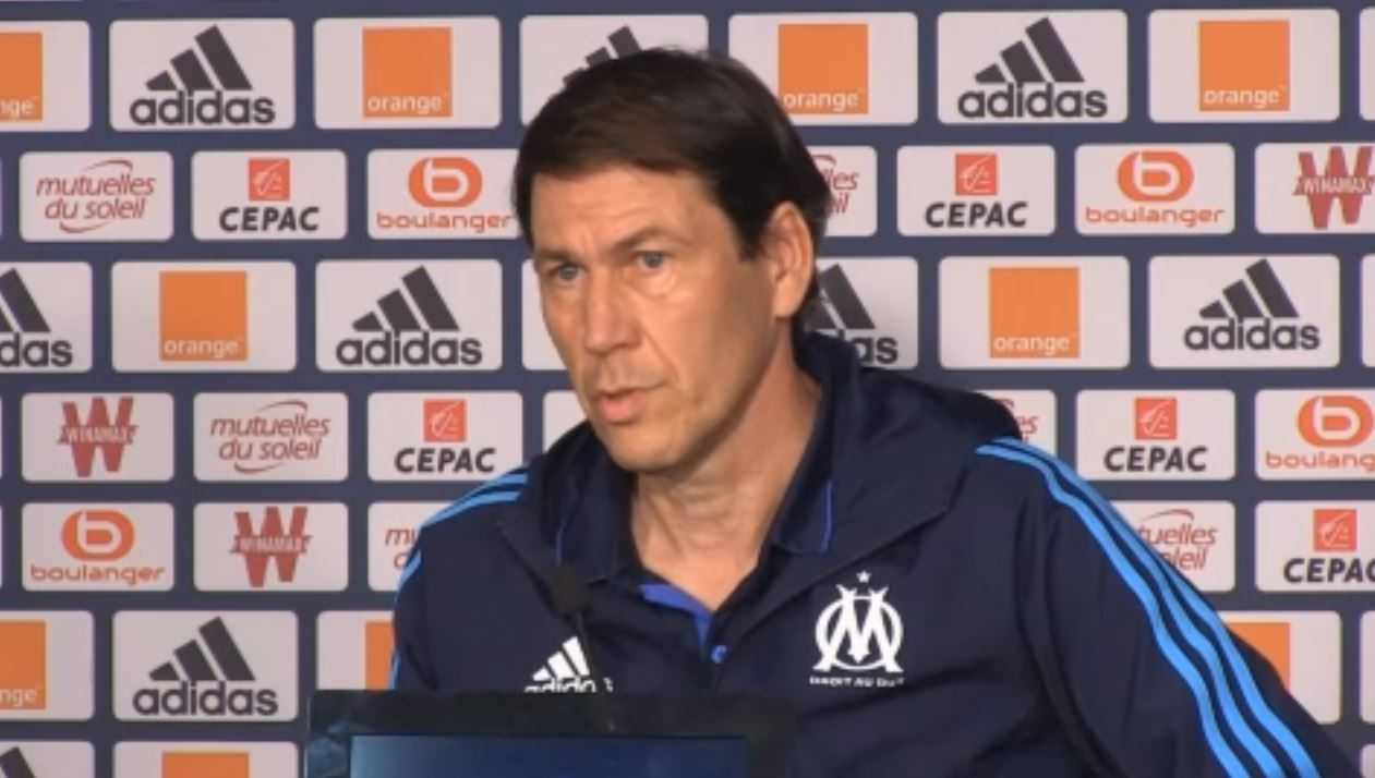 Football - Ligue 1 - OM : Garcia «100% d'accord» avec les propos d'Eyraud