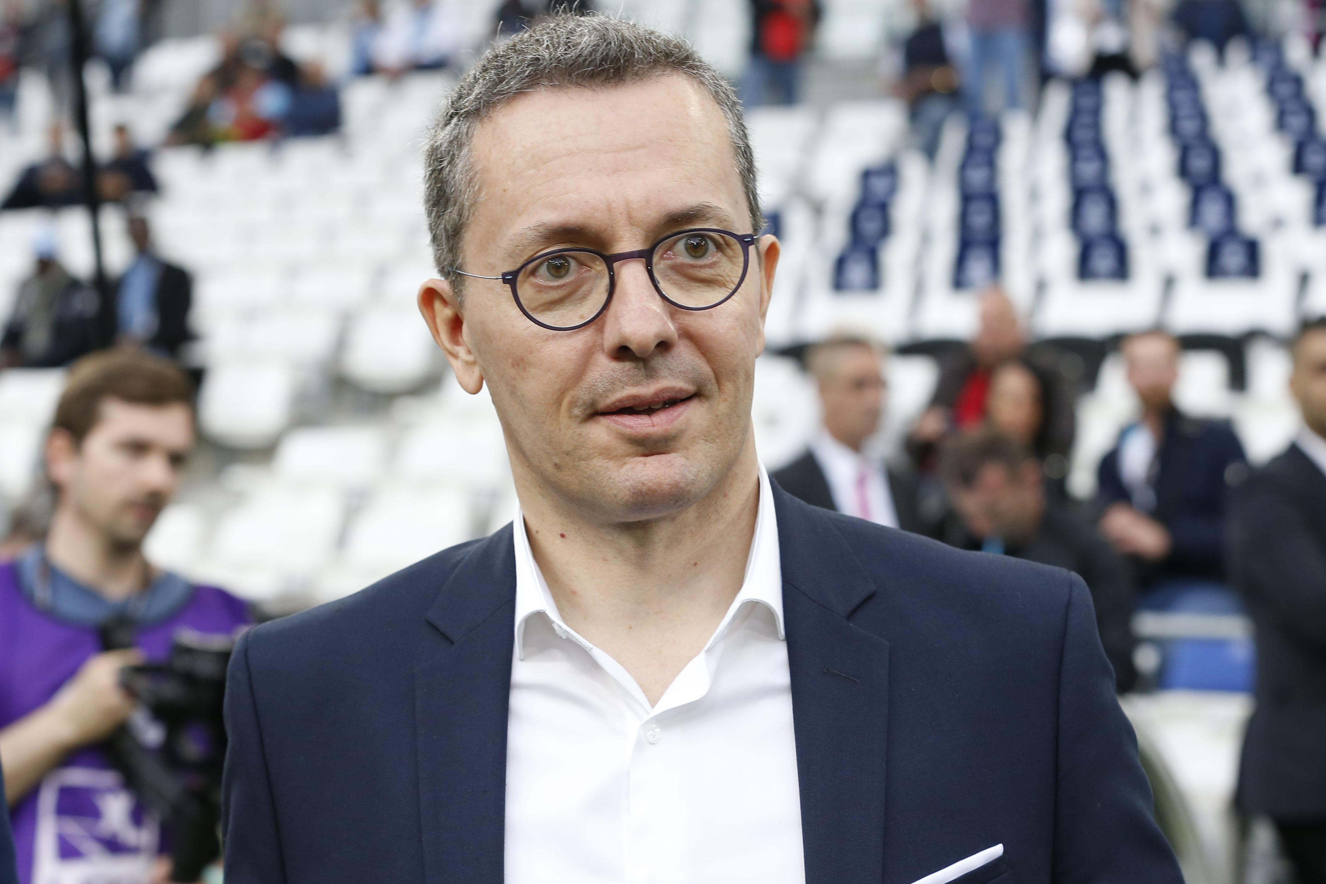 Football - Ligue 1 - OM: la conférence de presse lunaire d'Eyraud