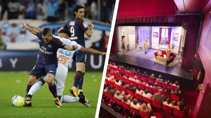 Football - Ligue 1 - OM-PSG : le Classique se joue aussi sur les planches