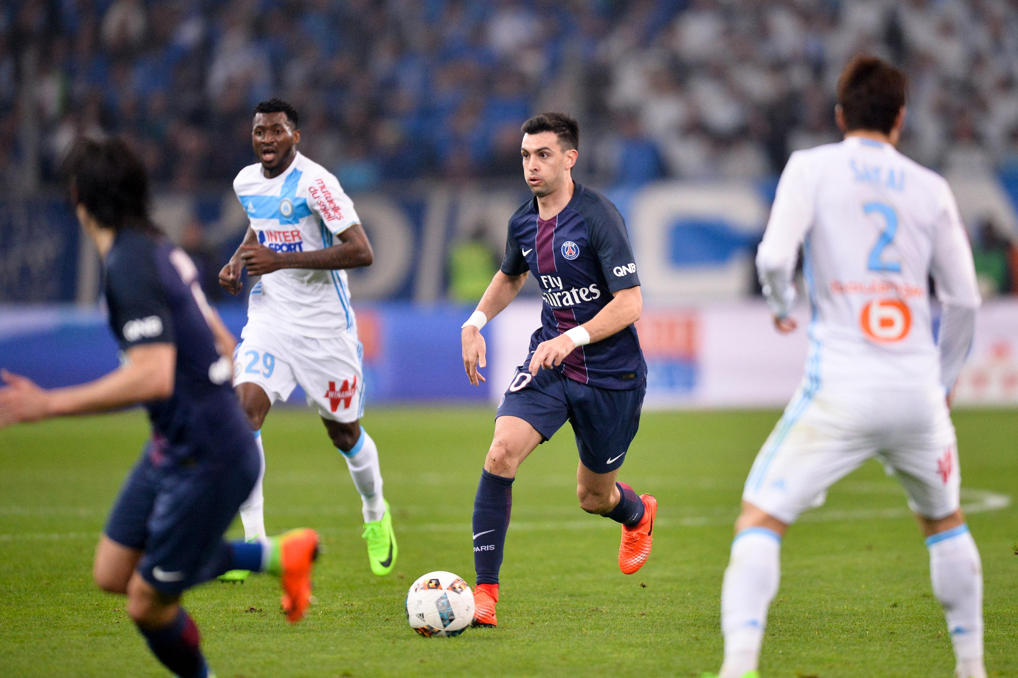 Football - Ligue 1 - OM-PSG,  les notes des Parisiens : Pastore et Thiago Silva majestueux