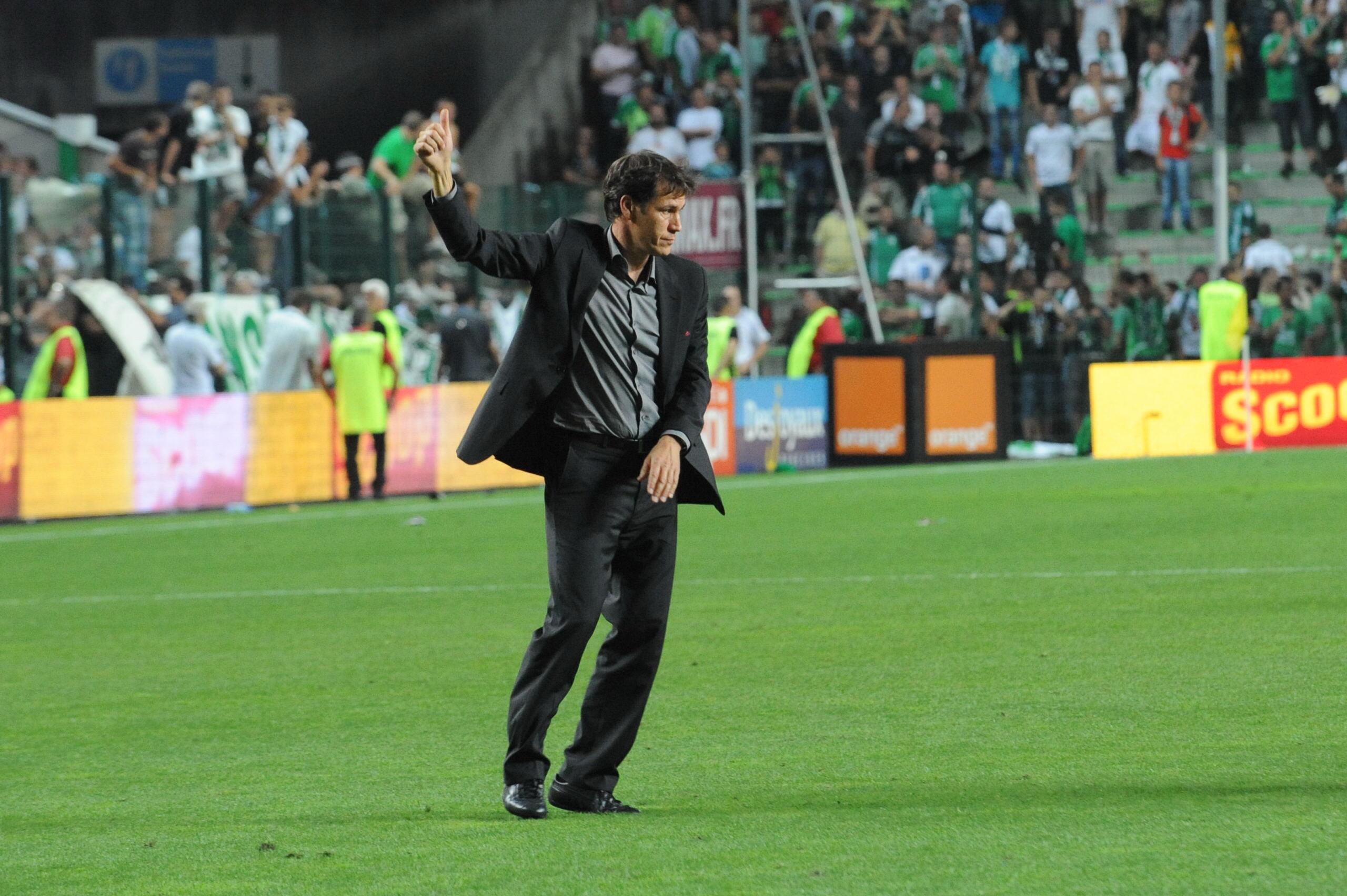 Football - Ligue 1 - OM: Quand Rudi Garcia entraînait ... les Verts