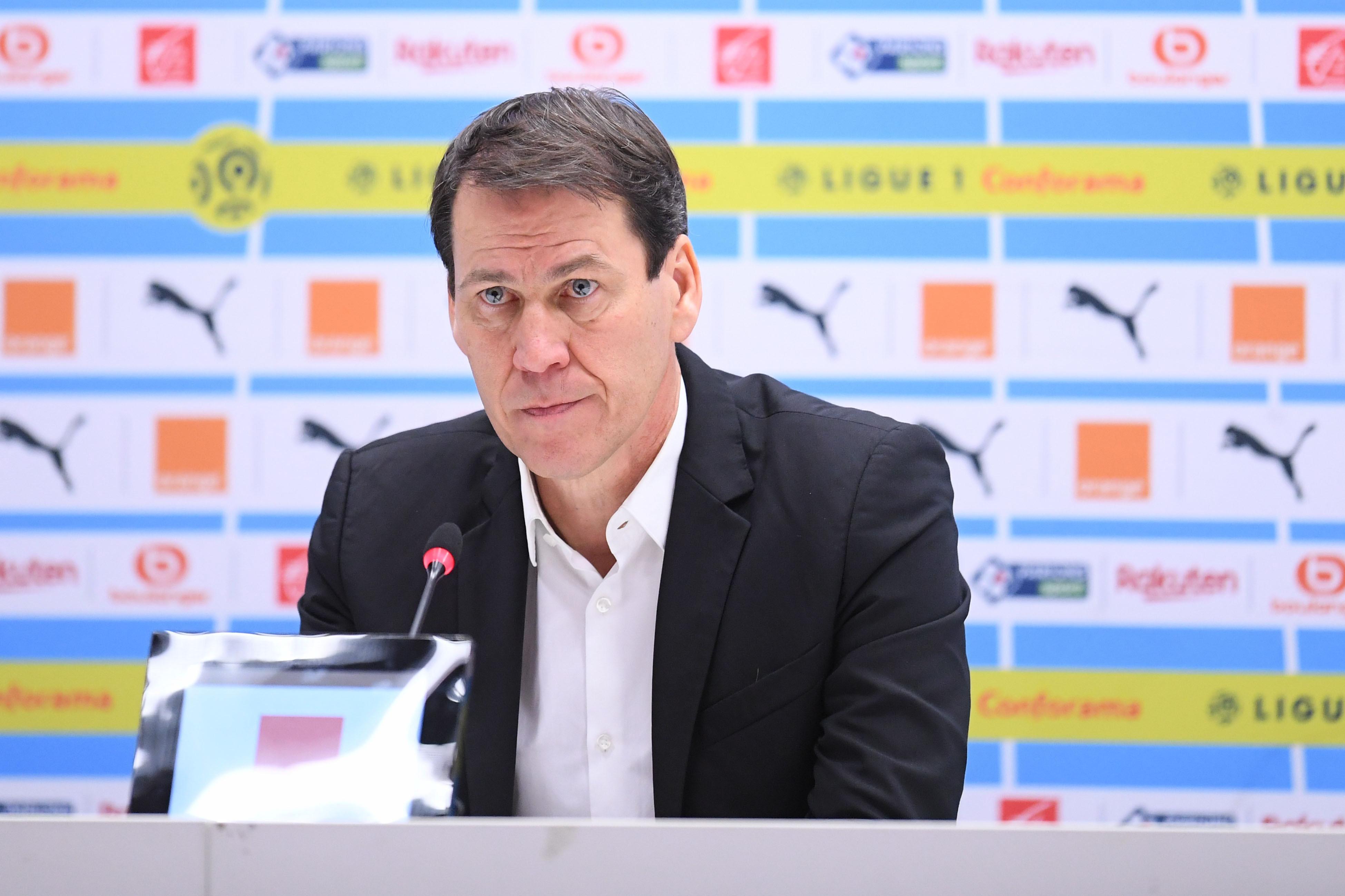 Football - Ligue 1 - OM : Rudi Garcia s'agace en conférence de presse après un article sur lui