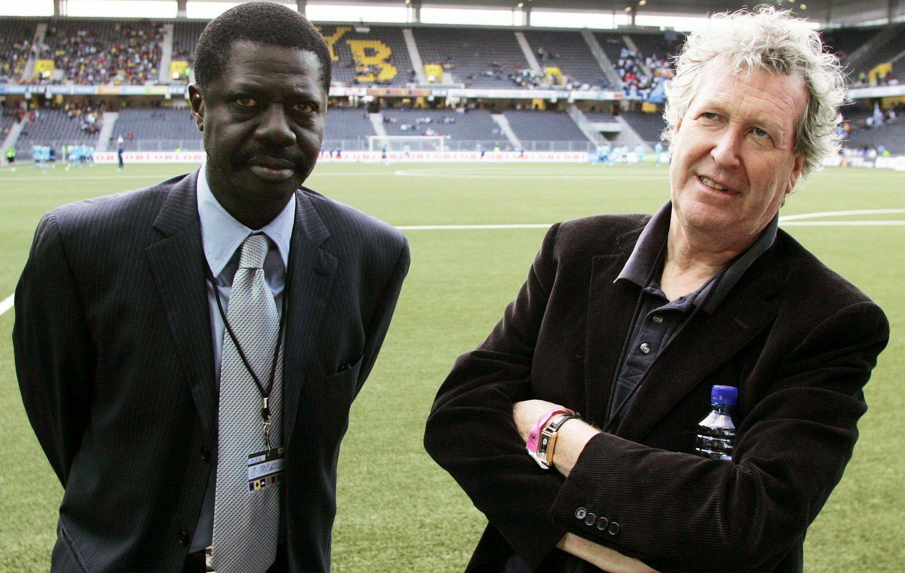 Football - Ligue 1 - Diouf l'Africain, premier président noir d'un club de Ligue 1