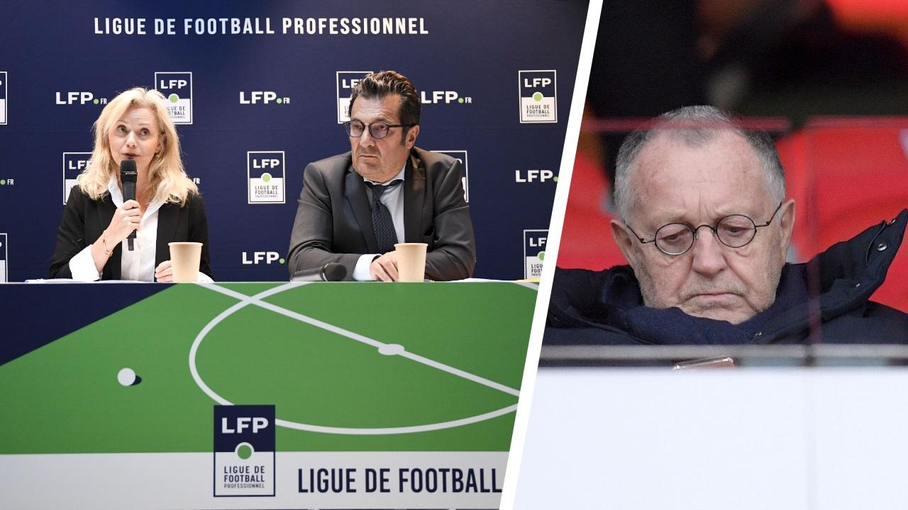 Football - Ligue 1 - «Pas question» de reprendre la Ligue 1 : la cinglante réponse de la LFP à Aulas