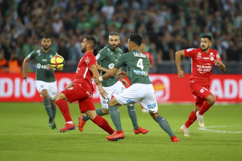 Football - Ligue 1 - Perrin (Saint-Etienne) : «On garde l'avantage, il n'y a rien de catastrophique»