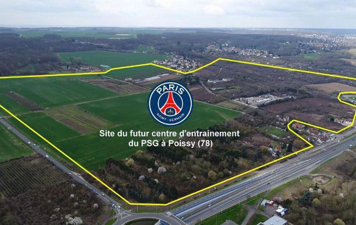 Football - Ligue 1 - Poissy confirme l'arrivée du PSG et de son centre d'entraînement