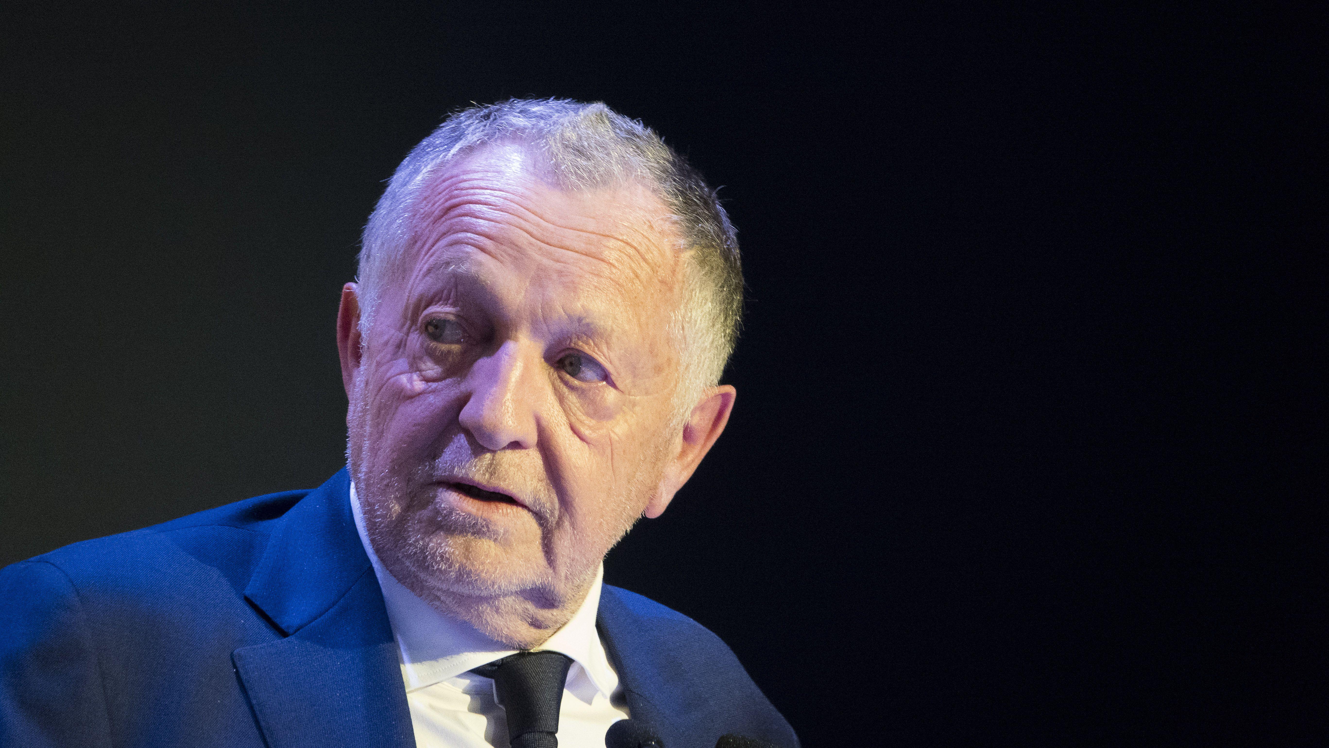 Football - Ligue 1 - Pour Aulas, le foot français est «en train de se pendre»