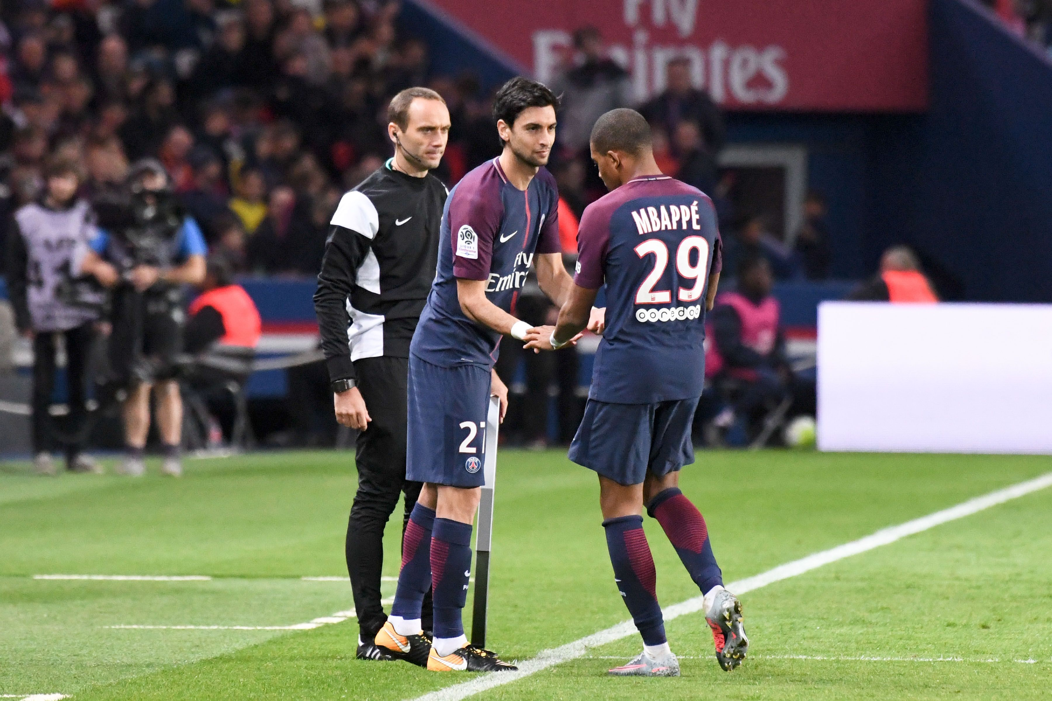 Football - Ligue 1 - Pour Pastore, Mbappé «pourrait devenir le meilleur joueur du monde»