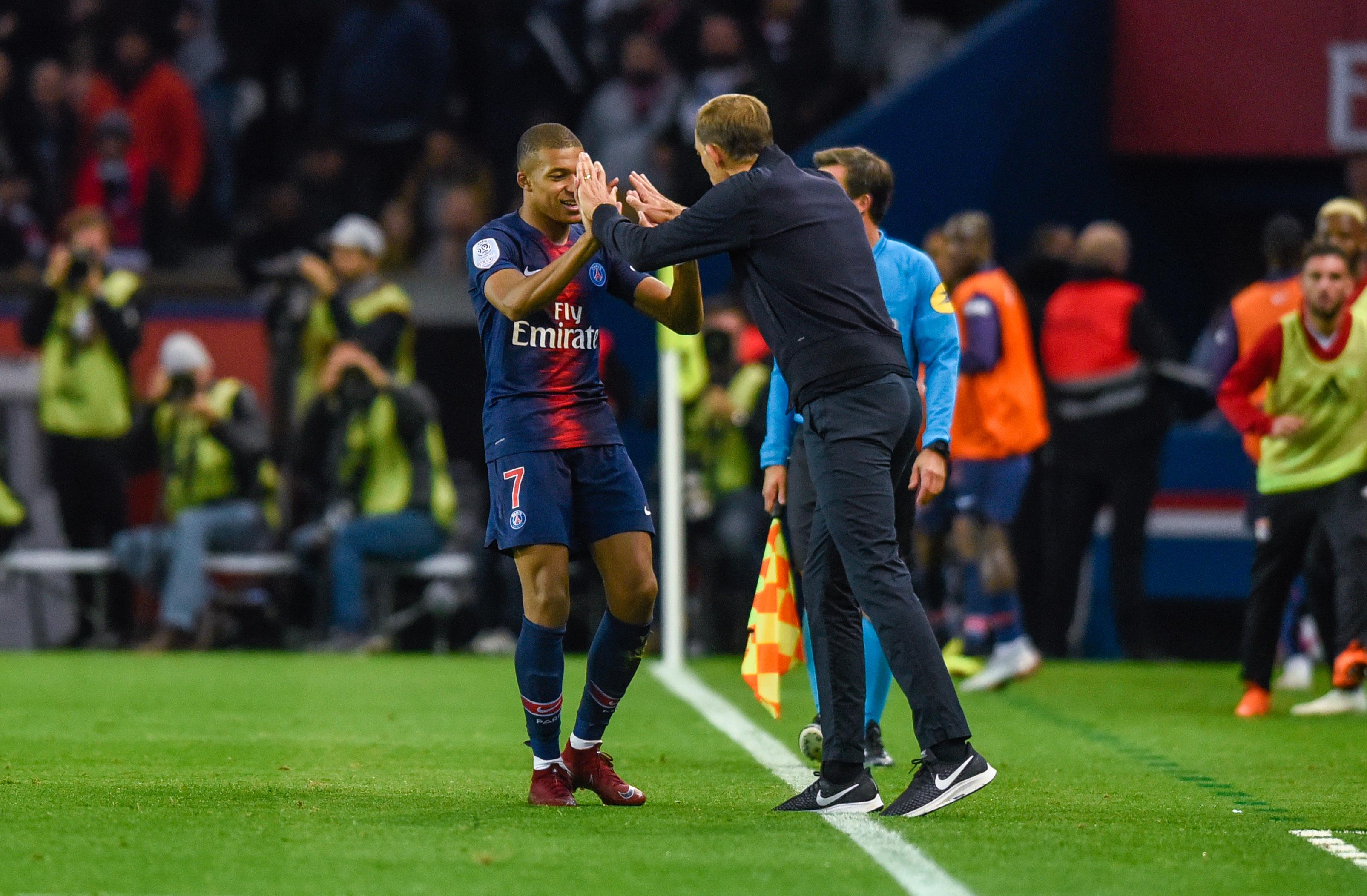 Football - Ligue 1 - Pour Thomas Tuchel, Kylian Mbappé «est un vrai numéro 9»