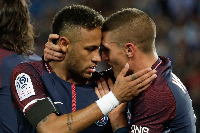 Football - Ligue 1 - Pour Verratti, le deuxième but de Neymar est digne d'Olive et Tom !