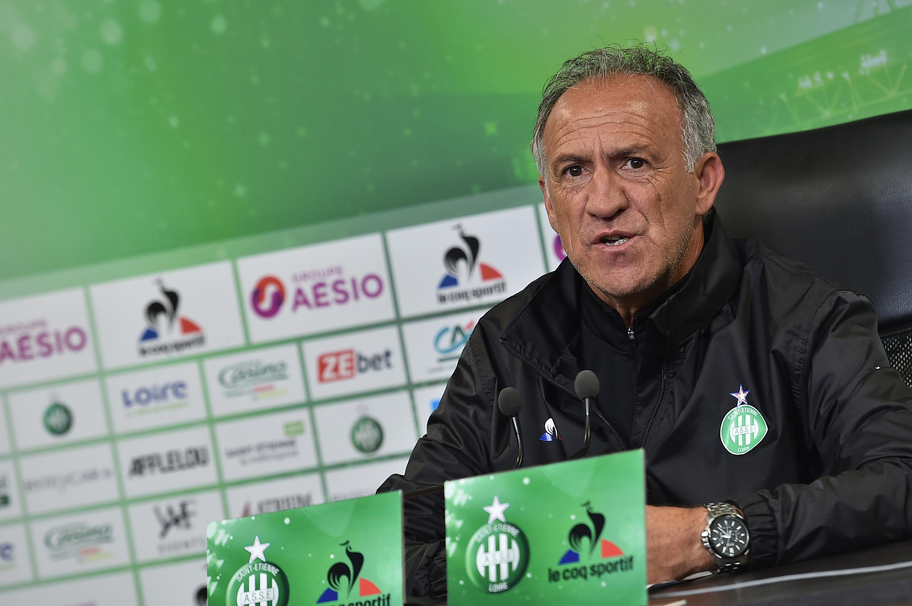 Football - Ligue 1 - Printant démissionnaire ? «Je suis l'entraîneur de Saint-Etienne»