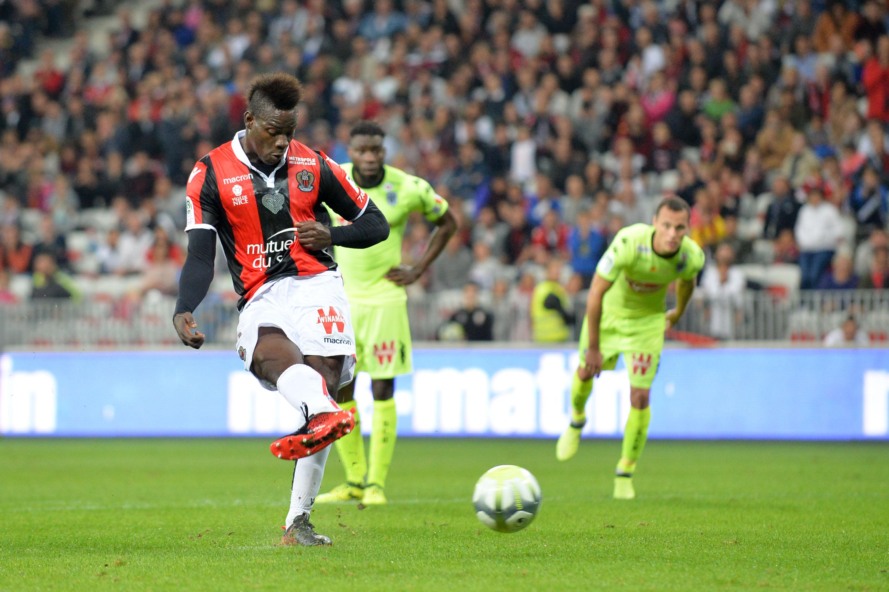 Football - Ligue 1 - PSG, Balotelli, Ruffier : les chiffres marquants du week-end de L1