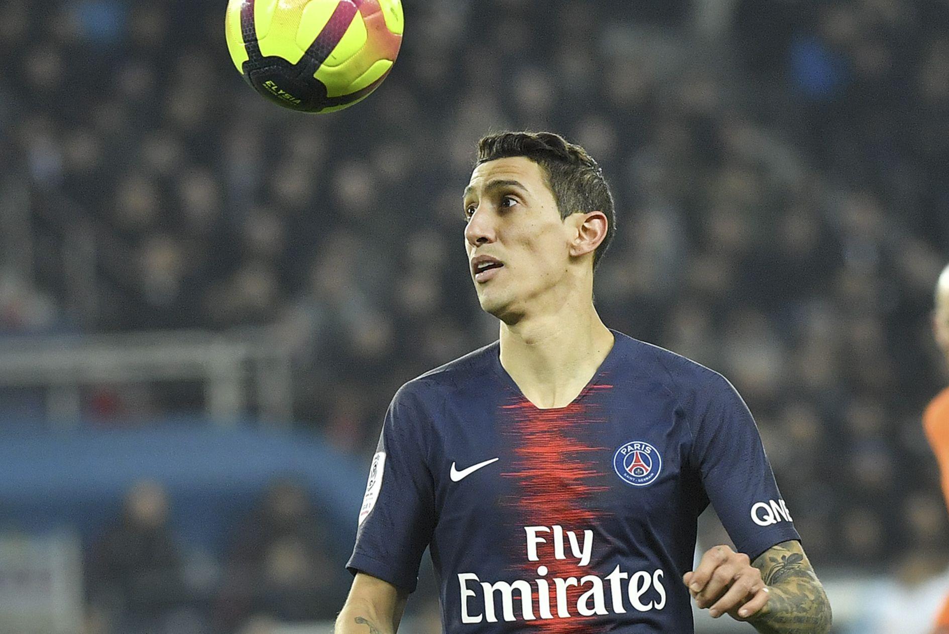 Football - Ligue 1 - PSG : Di Maria peut-être de retour à Lille, Neymar, Cavani et Marquinhos forfaits