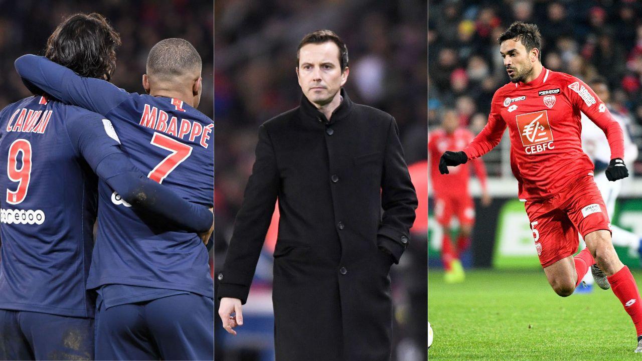 Football - Ligue 1 - PSG, Dijon, Rennes : les stats à connaître avant la 24ème journée de L1