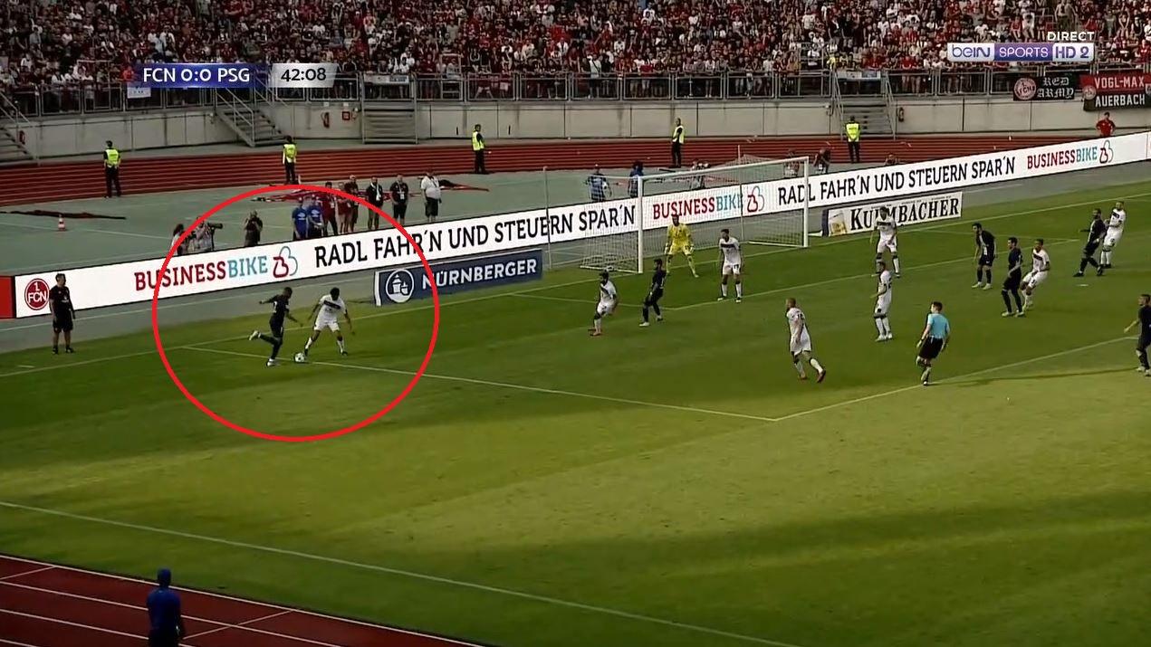 Football - Ligue 1 - PSG : festival de Mbappé, Sarabia à la conclusion pour son premier but (vidéo)