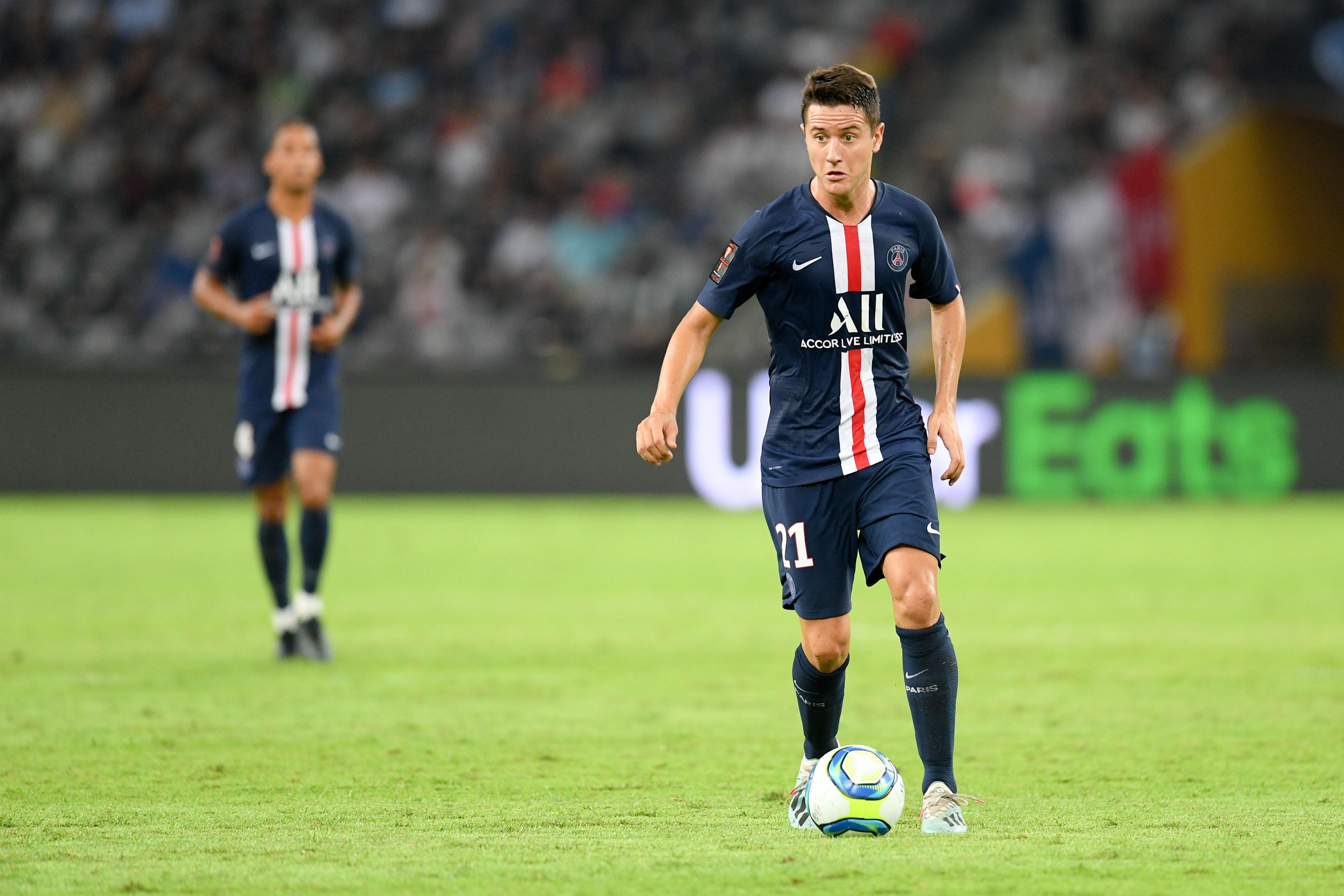 Football - Ligue 1 - PSG : Herrera à l'infirmerie et out pour trois à quatre semaines