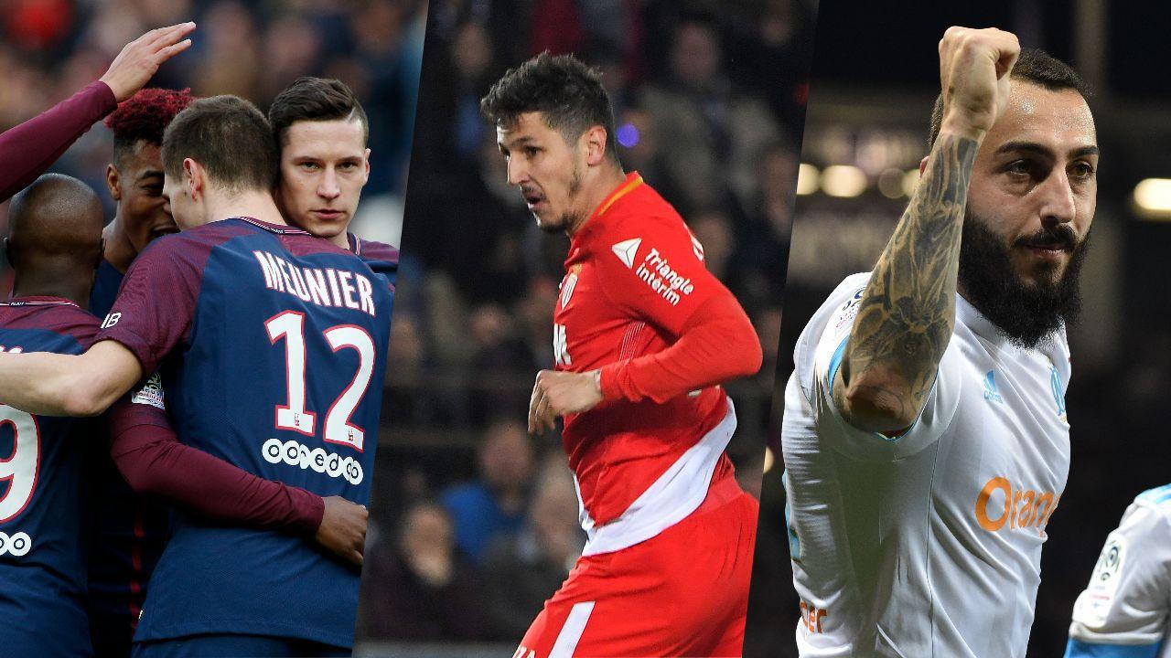 Football - Ligue 1 - PSG, Jovetic, Mitroglou : les chiffres marquants du week-end de L1