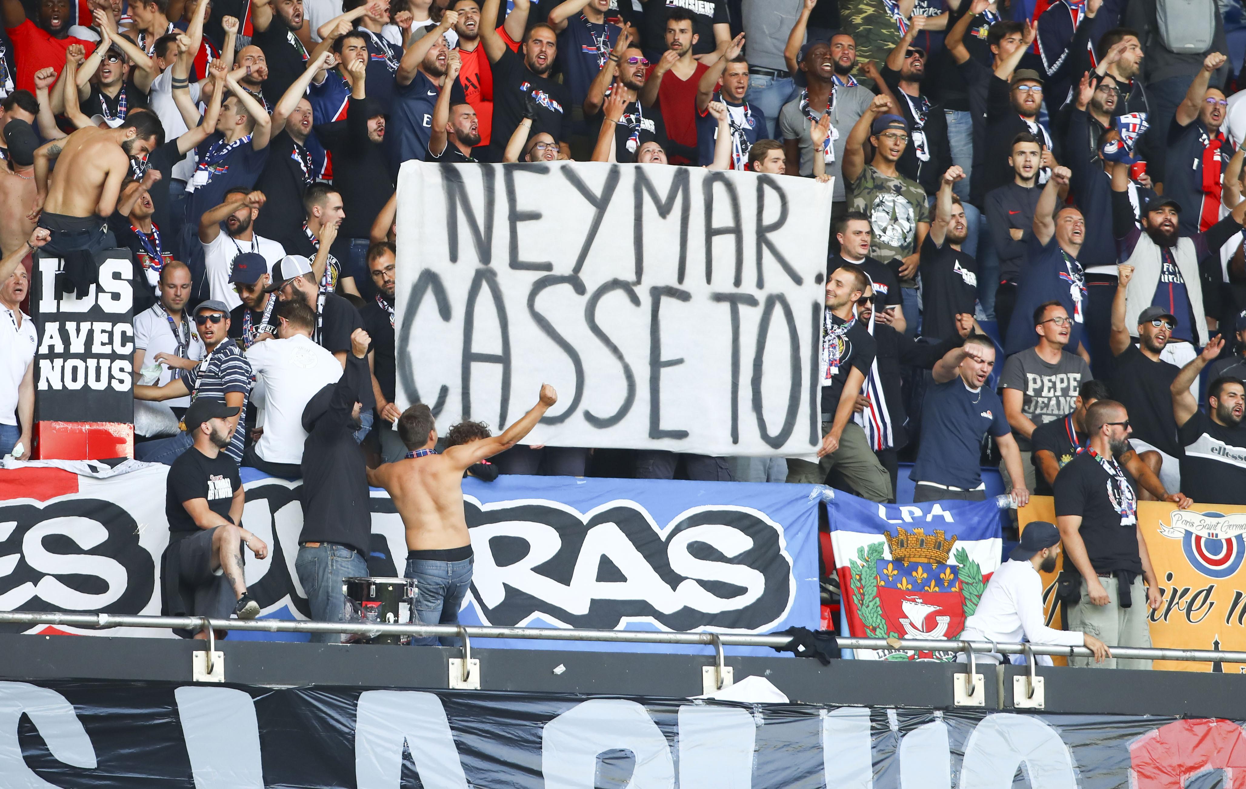 Football - Ligue 1 - Retour de Neymar : Les supporters du PSG promettent une ambiance hostile