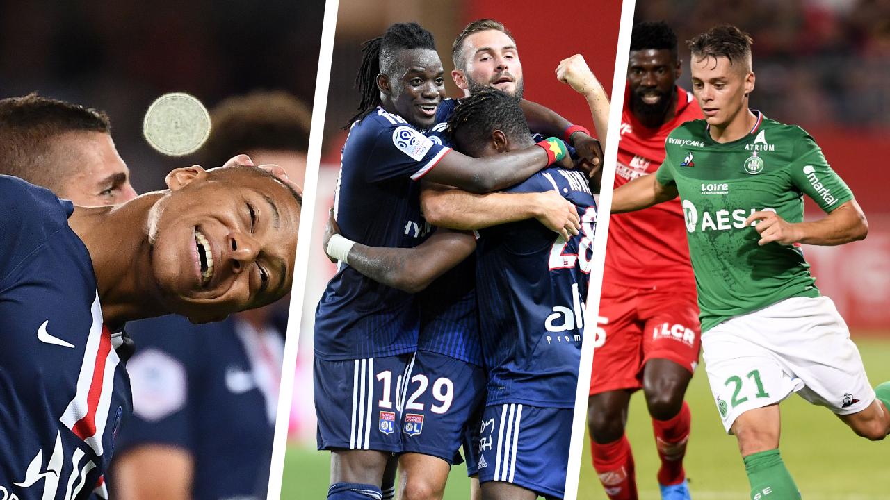Football - Ligue 1 - PSG, Lyon, Hamouma : les stats à connaître avant la 2ème journée de L1