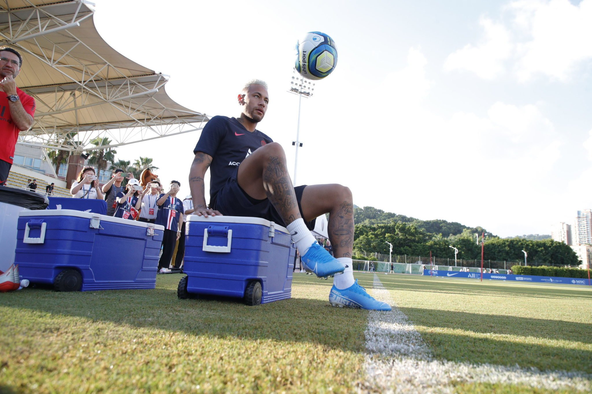 Football - Ligue 1 - PSG : ménagé, Neymar ne jouera pas ce samedi contre l'Inter Milan