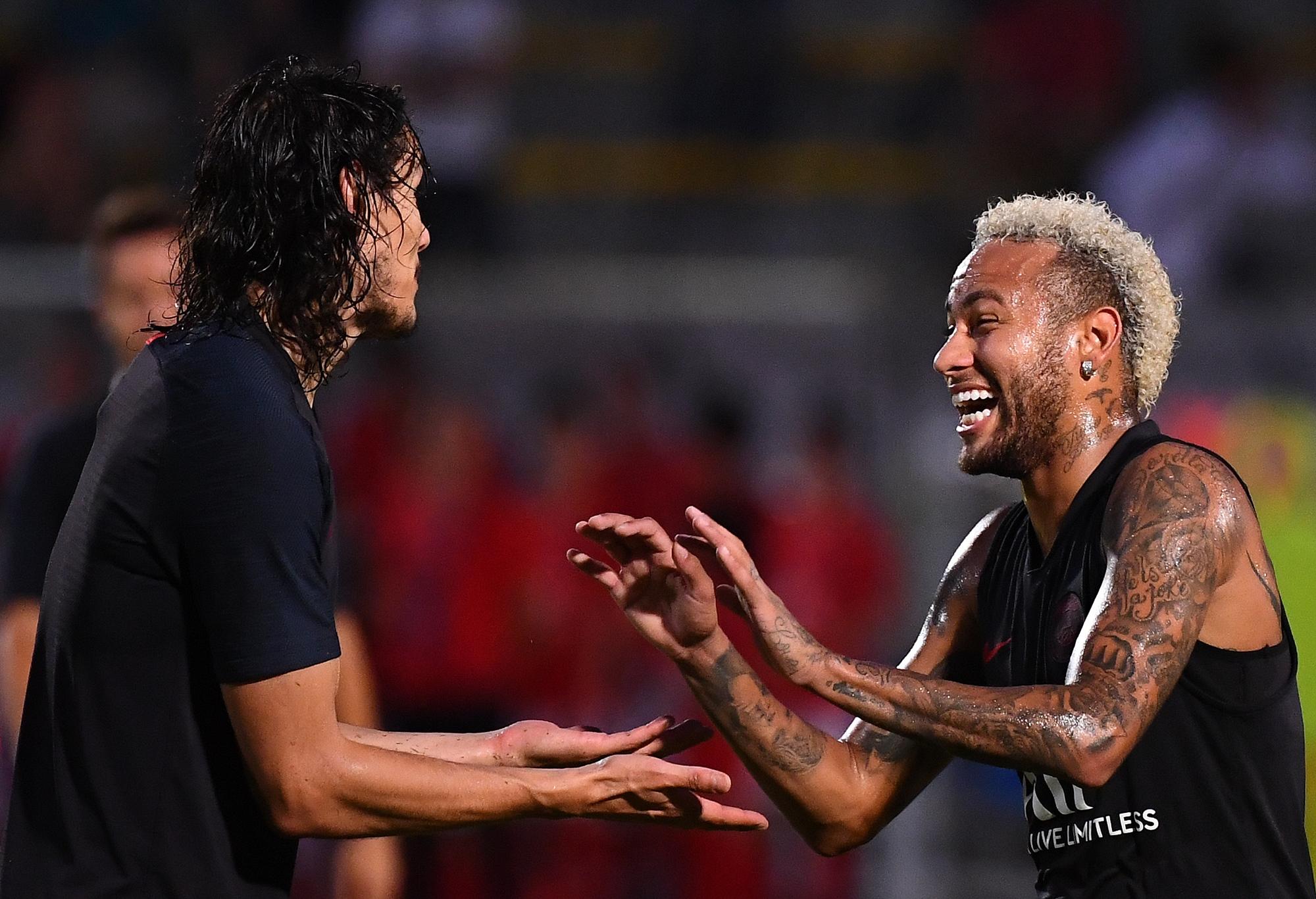 Football - Ligue 1 - PSG : Neymar, un sourire dans la grisaille