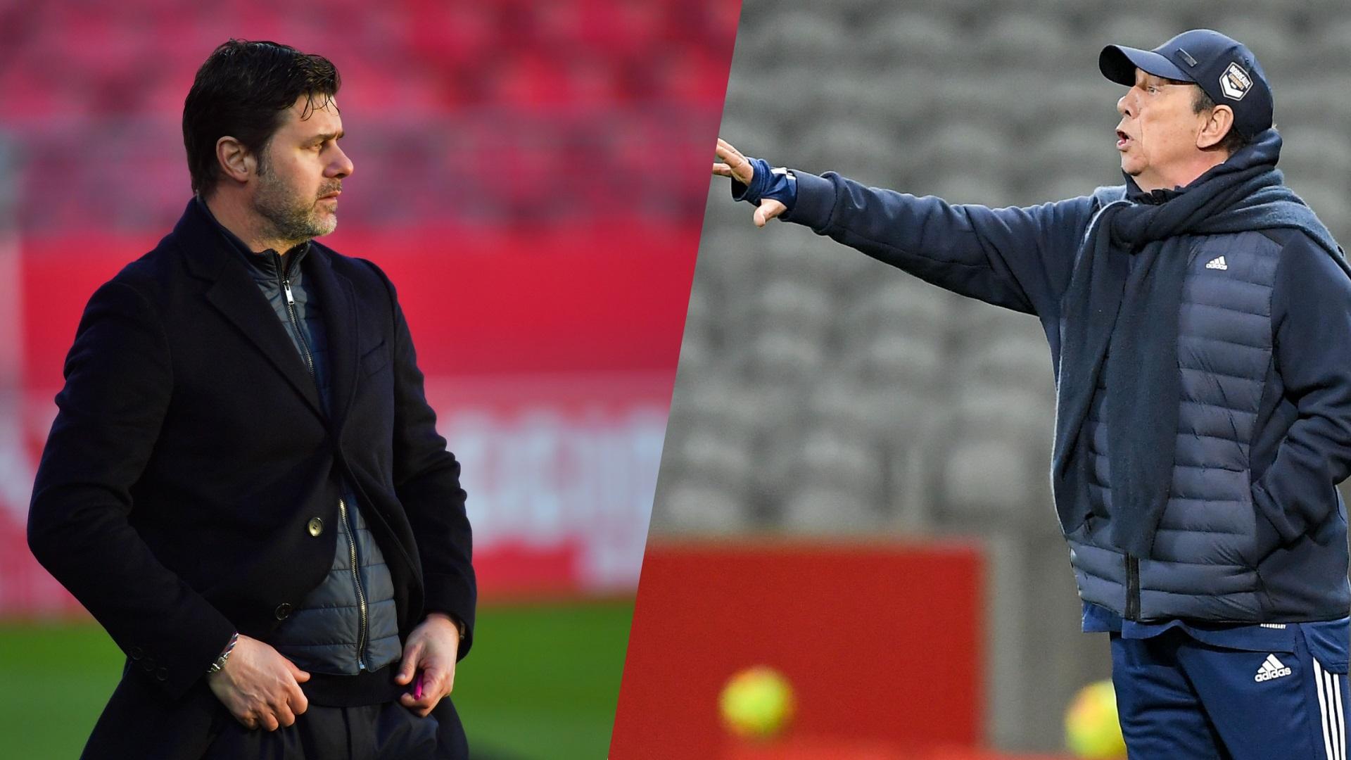 Football - Ligue 1 - PSG : Pochettino-Gasset, quand l'élève affronte le maître