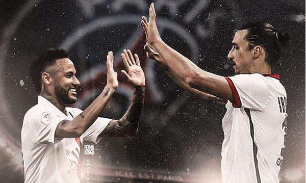 Football - Ligue 1 - PSG : quand Neymar rend hommage à Ibrahimovic