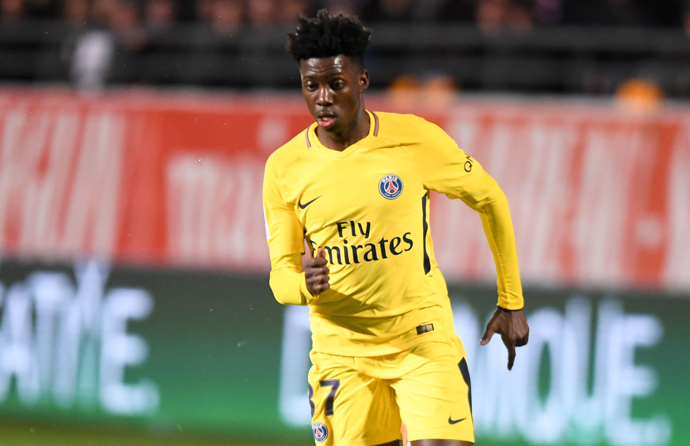 Maillot THIRD Paris Saint-Germain Timothy WEAH