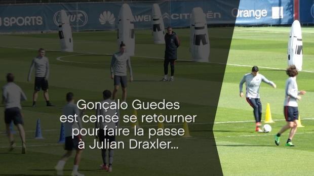 Football - Ligue 1 - Quand Guedes et Draxler ne comprennent pas du tout les consignes
