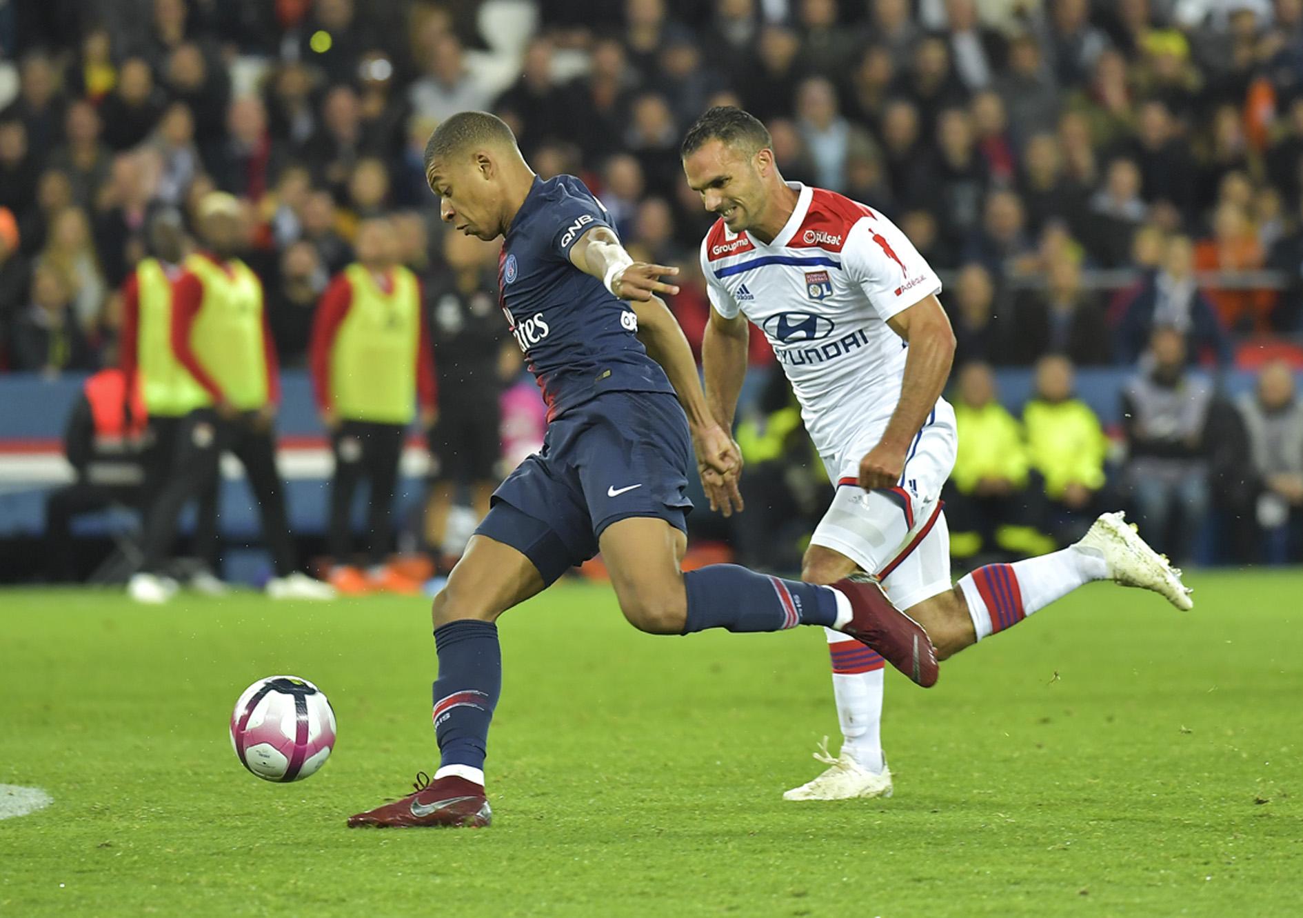 Football - Ligue 1 - Quand Kylian Mbappé inscrivait un quadruplé face à Lyon