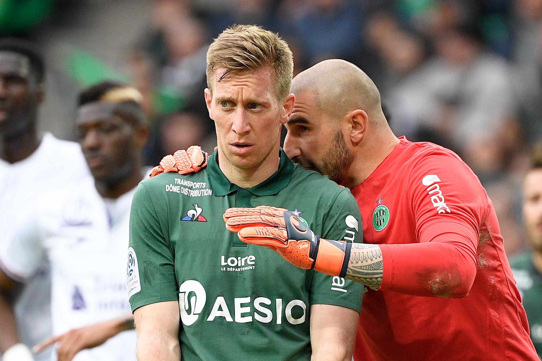 Football - Ligue 1 - Robert Beric déclare sa flamme à Saint-Etienne
