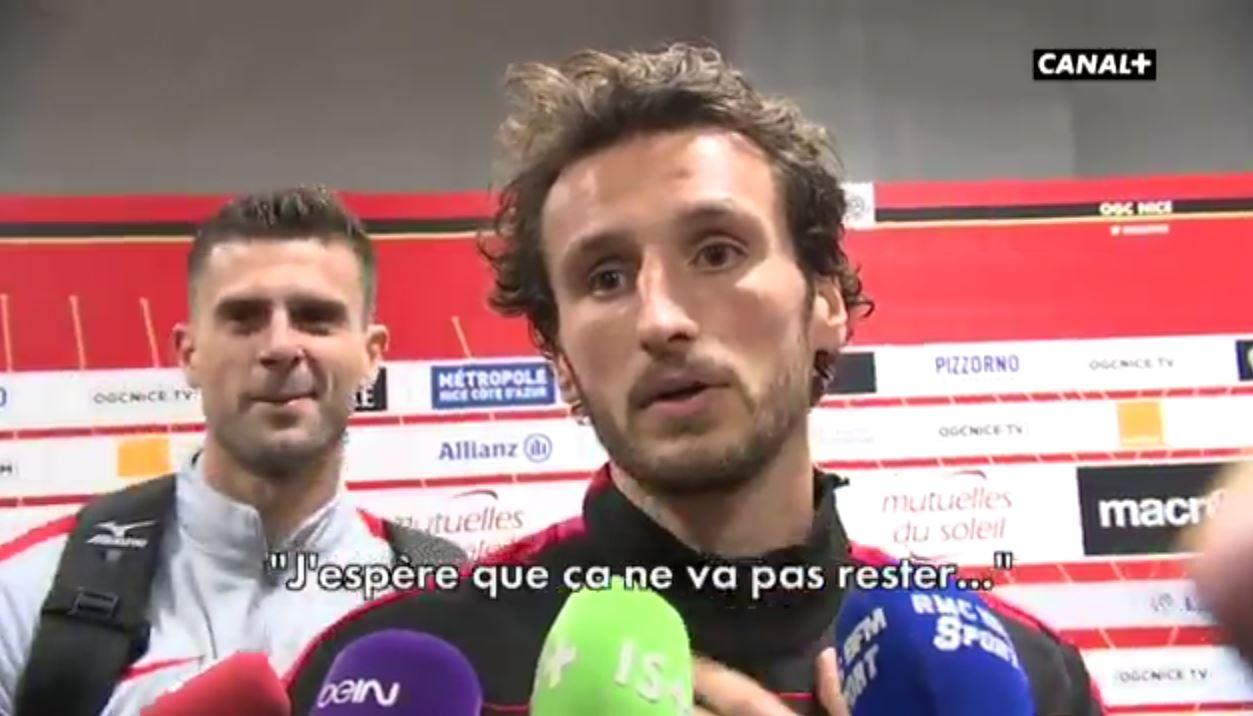 Football - Ligue 1 - Rouge, «théâtre», chambrage... Motta et Baysse ne partiront pas en vacances ensemble