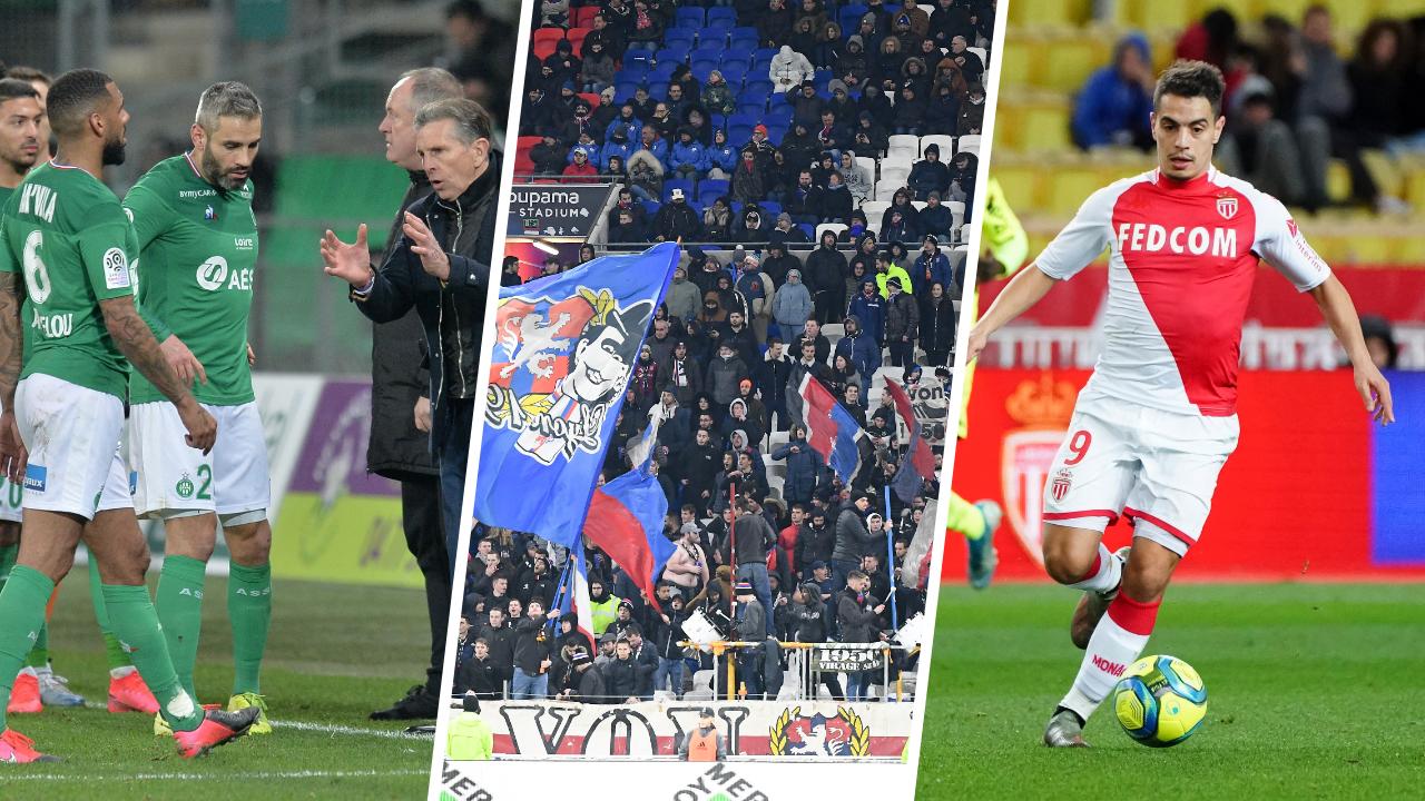 Football - Ligue 1 - Saint-Etienne, Lyon, Ben Yedder : les stats à connaître avant la 25ème journée de L1