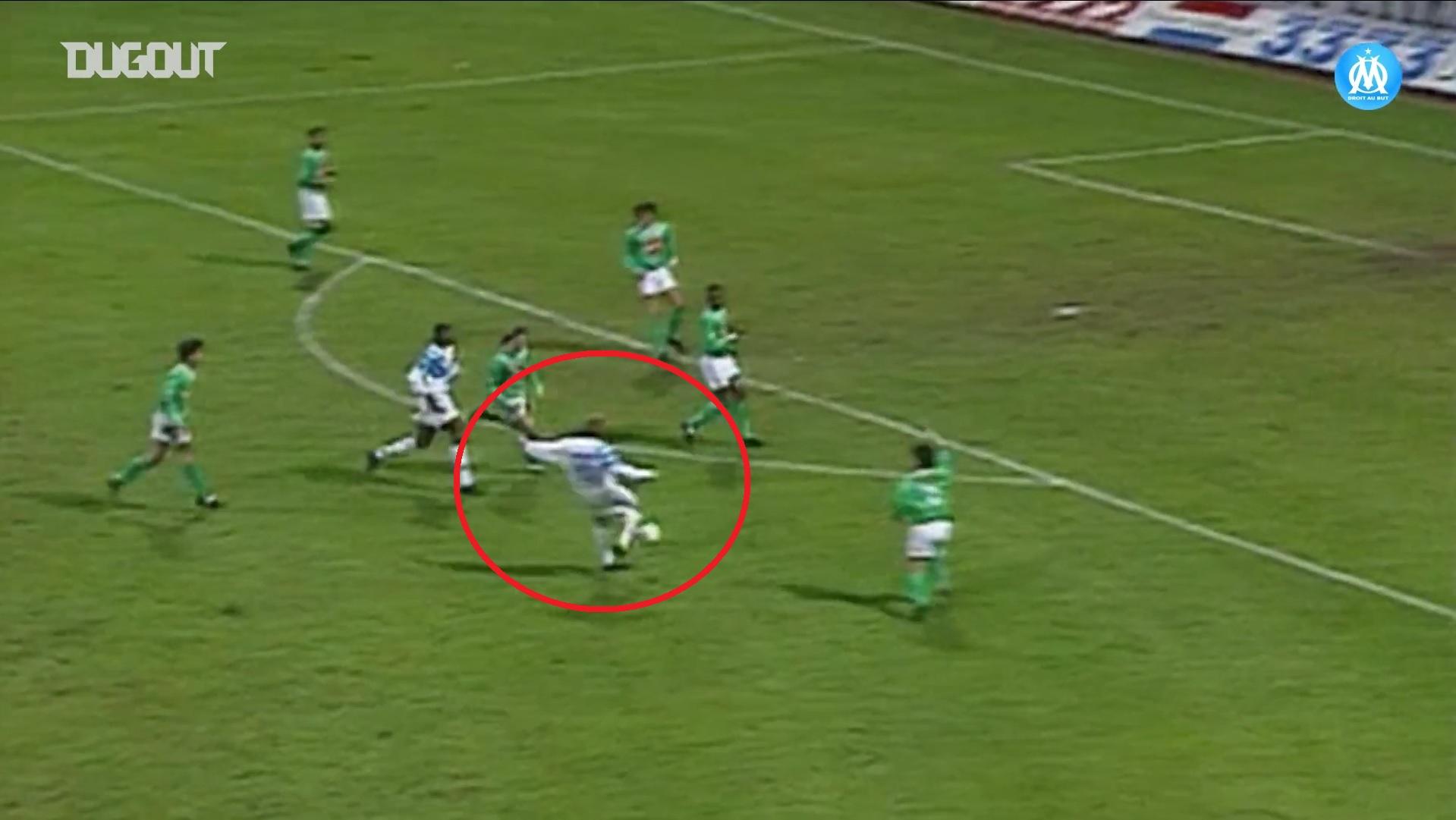 Football - Ligue 1 - Saint-Etienne - Marseille : quand Rudi Völler punissait les Verts d'une volée en 1993