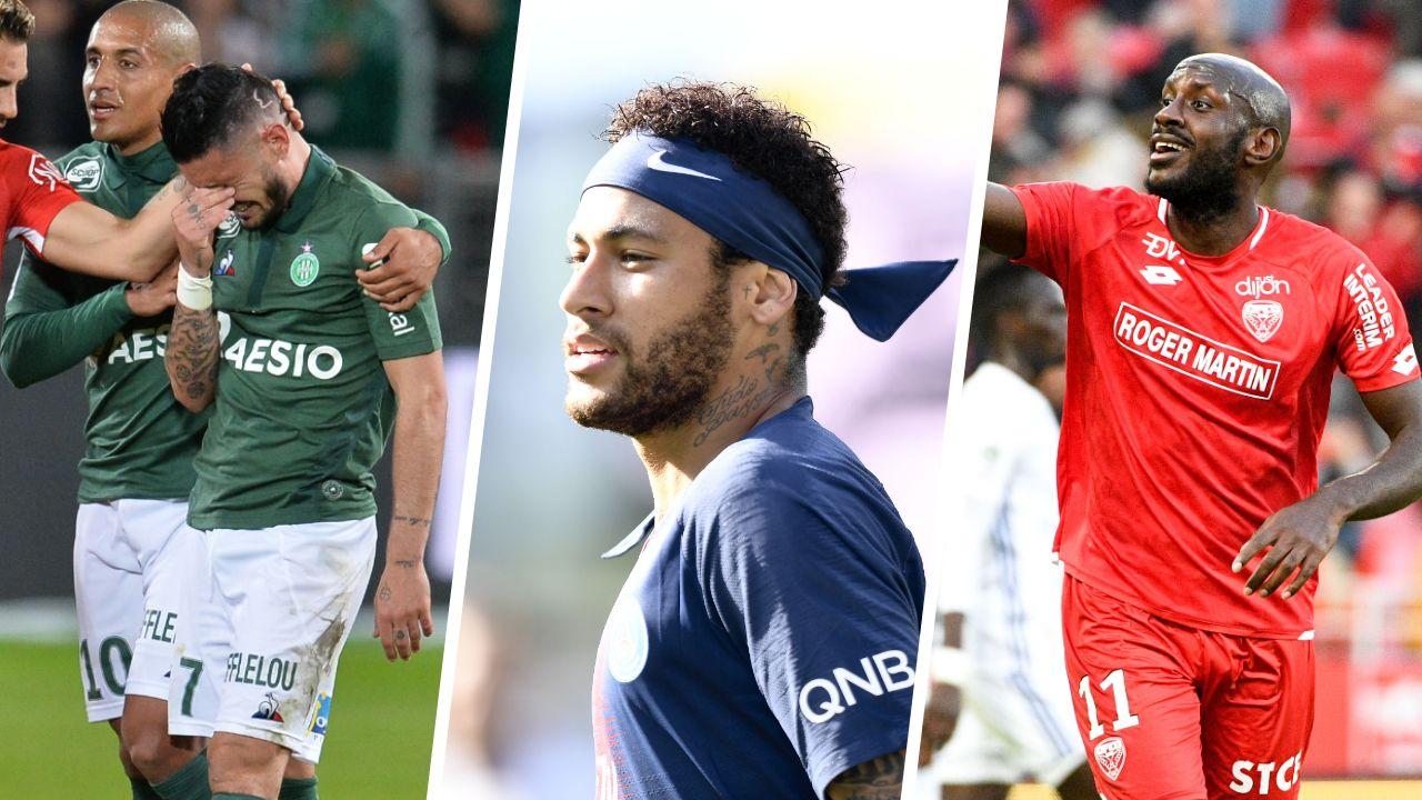 Football - Ligue 1 - Saint-Etienne, Neymar, Tavares : le debrief stats du week-end de L1