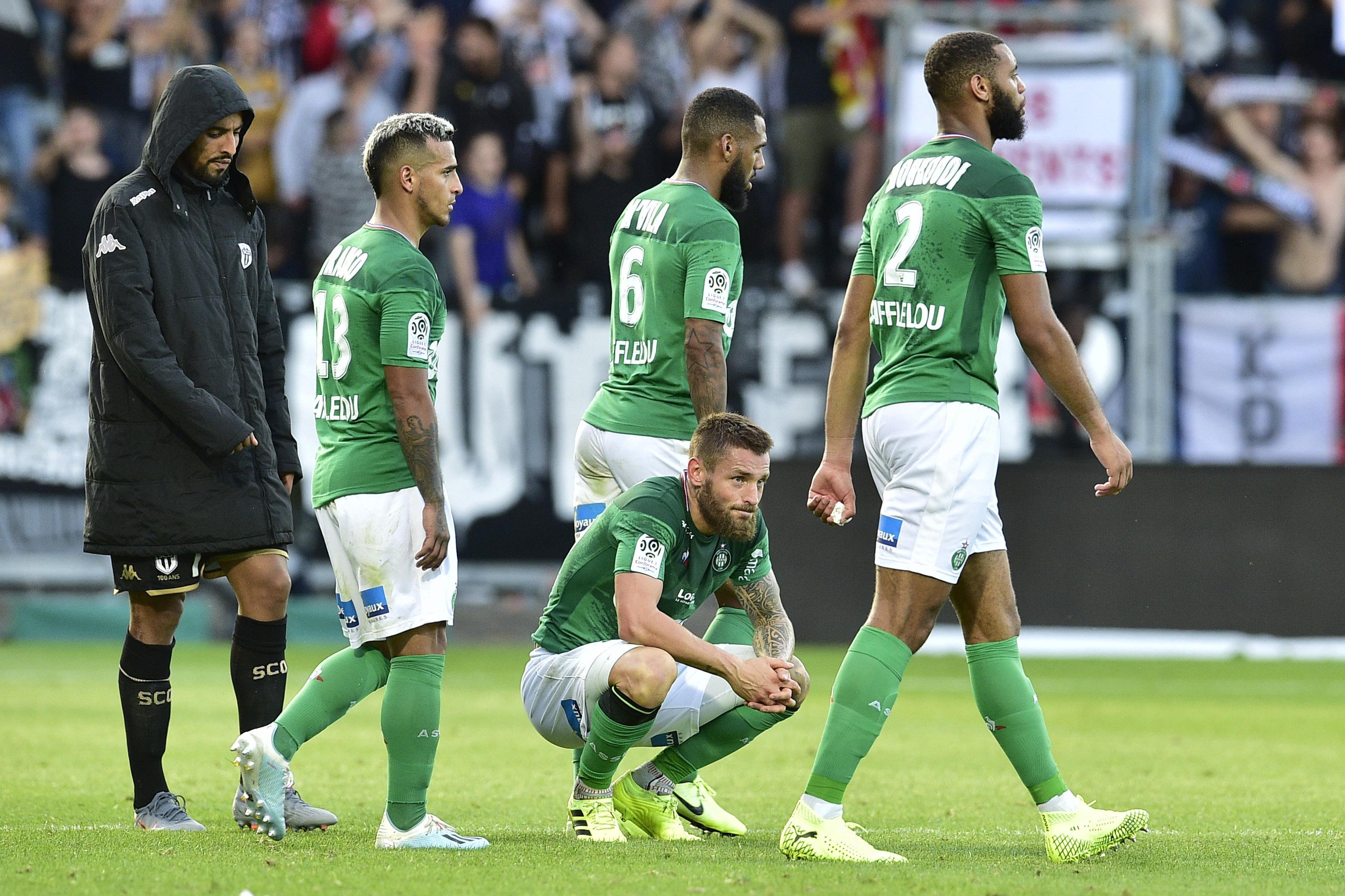 Football - Ligue 1 - Saint-Etienne se pose des questions