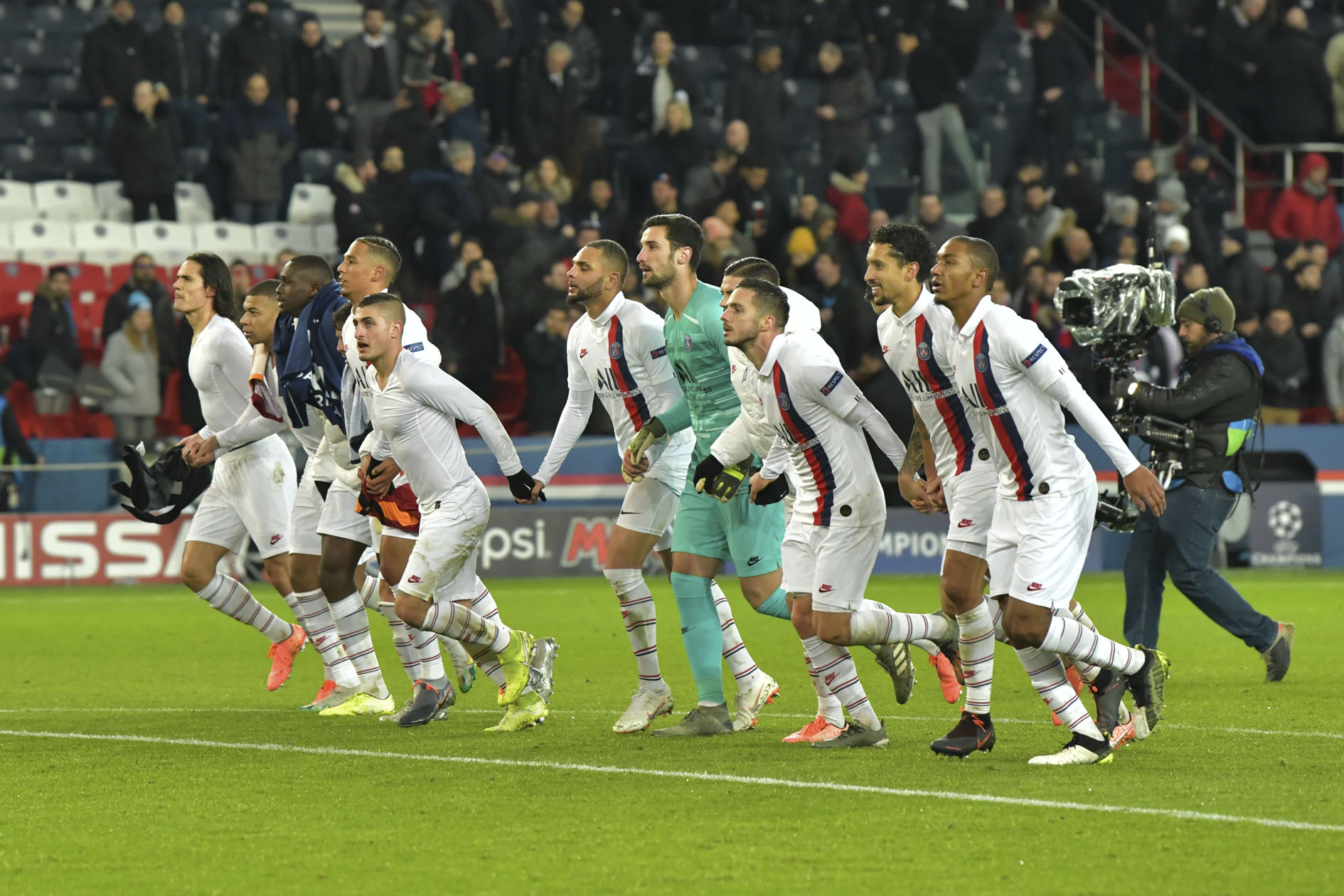 Football - Ligue 1 - Sans jouer (et grâce au nul de l'OM), le PSG champion d'automne
