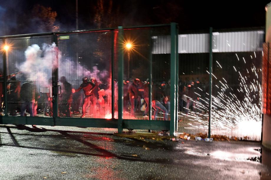 Football - Ligue 1 - Saint-Etienne-Monaco : des incidents en marge de la déroute
