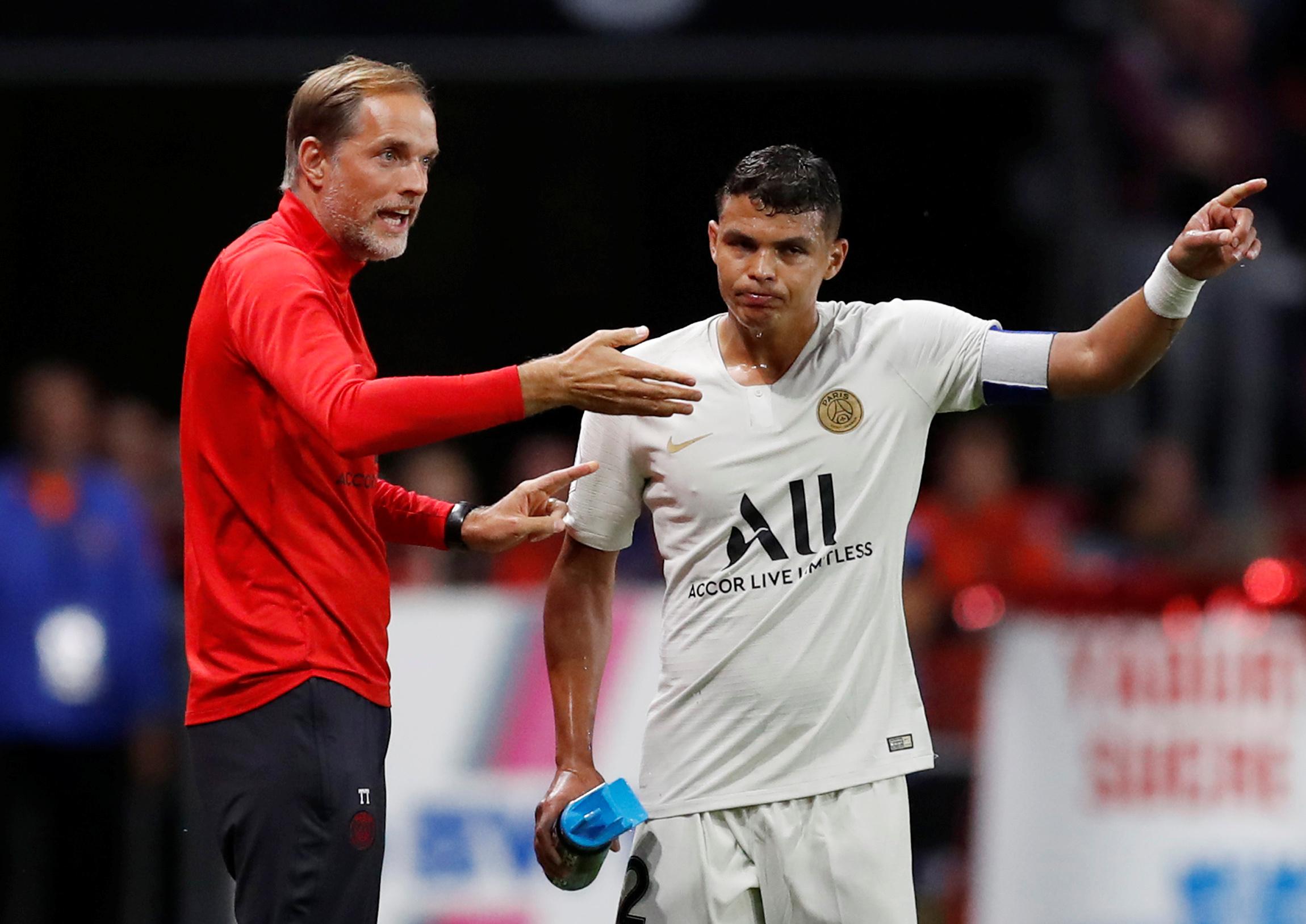 Football - Ligue 1 - Thiago Silva après la défaite à Rennes : «Ce n'était pas le vrai PSG»