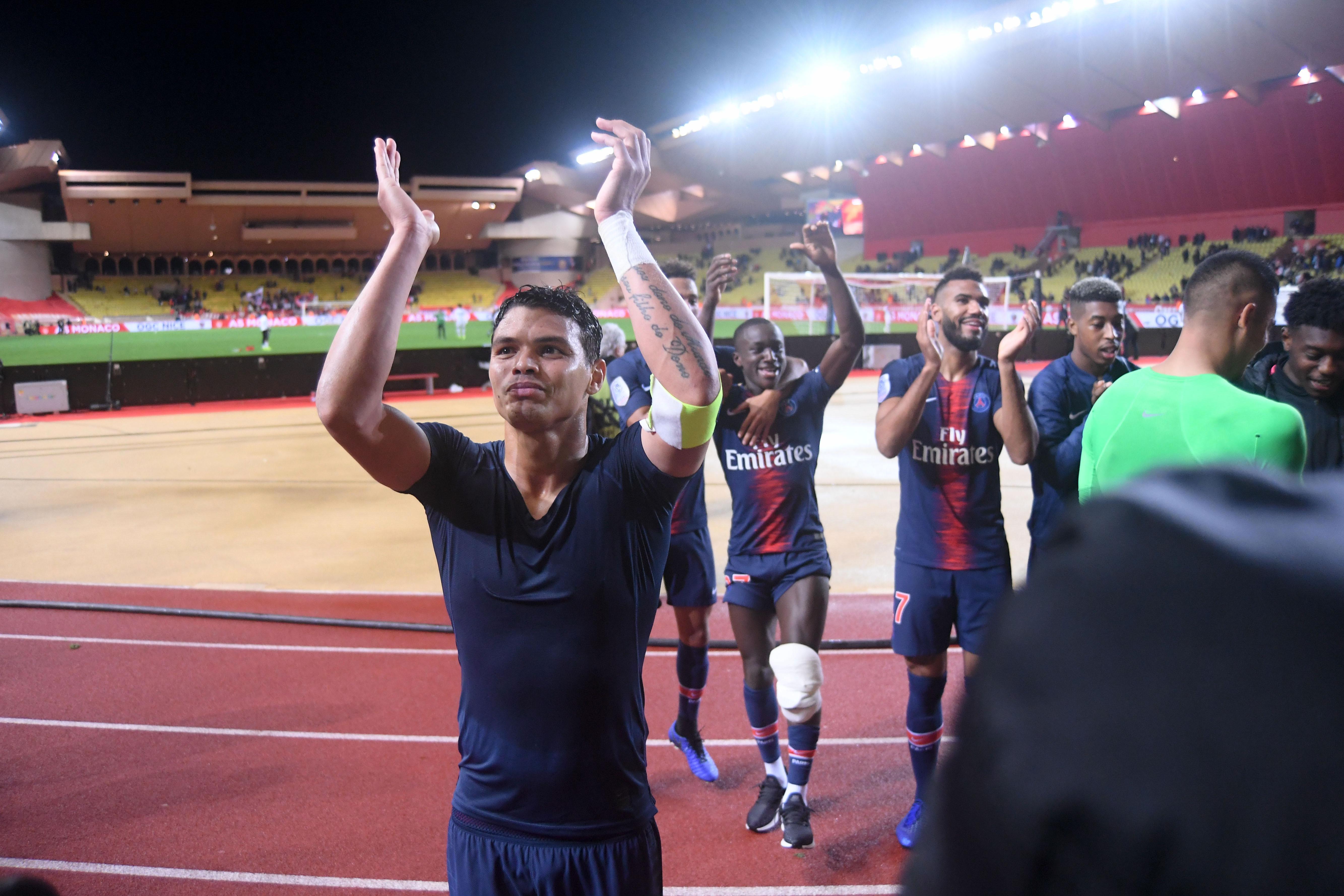Football - Ligue 1 - Thiago Silva après Monaco-PSG : «Même si on a gagné 4-0, on a très mal joué»