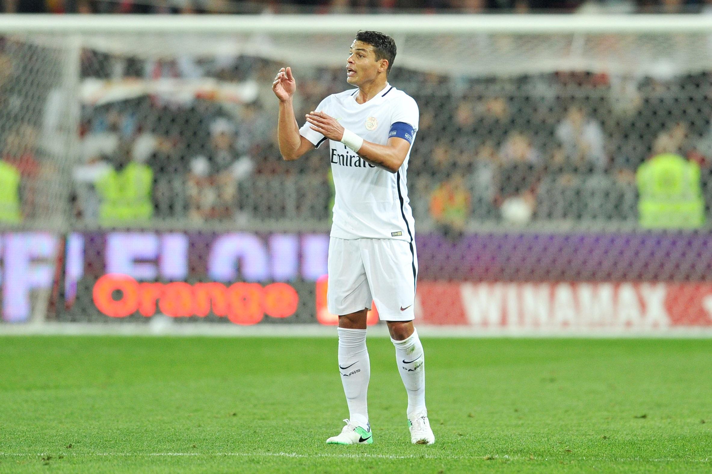 Football - Ligue 1 - Thiago Silva : «Finir troisième serait catastrophique»