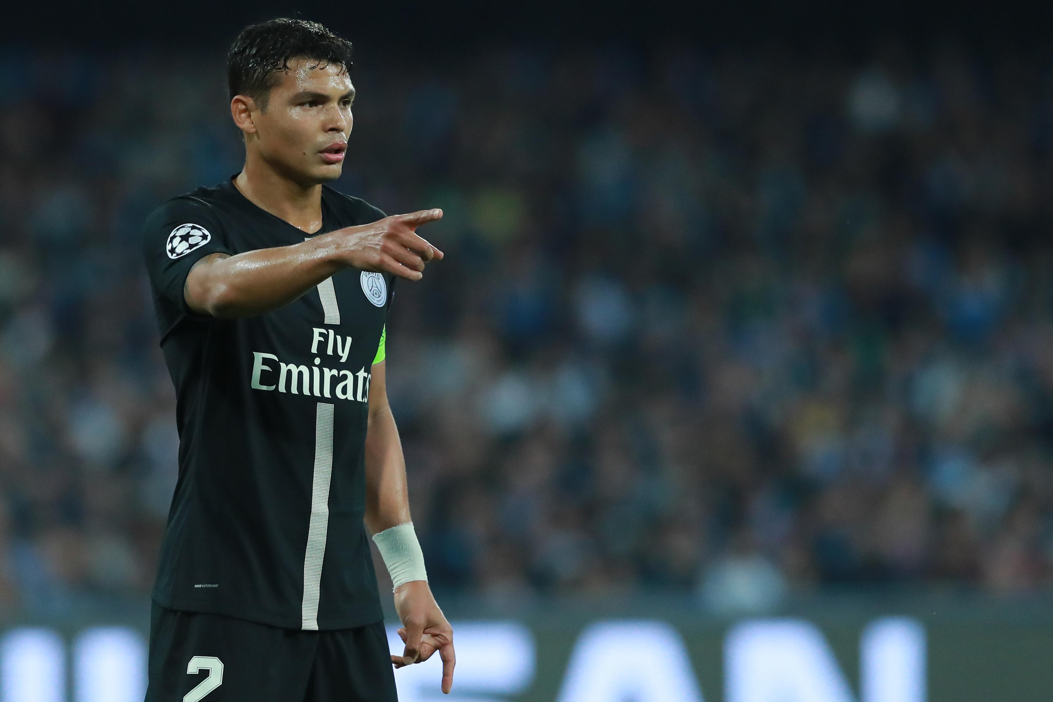 Football - Ligue 1 - Thiago Silva va obtenir la nationalié française