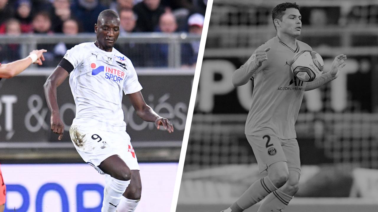 Football - Ligue 1 - Tops/flops Amiens-Paris SG : Guirassy frappe fort, Thiago Silva hors sujet