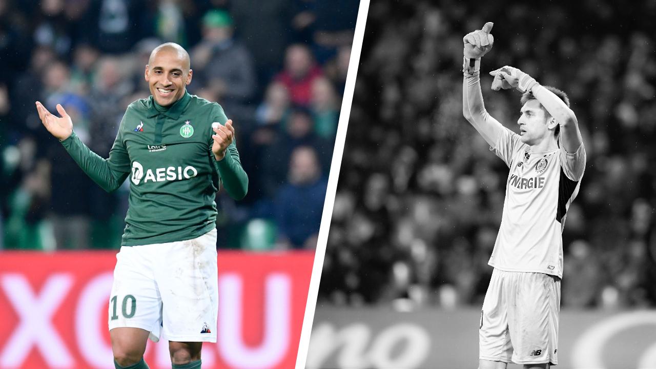 Football - Ligue 1 - Tops/Flops ASSE-FCN : Khazri déterminant, Nantes proche du néant