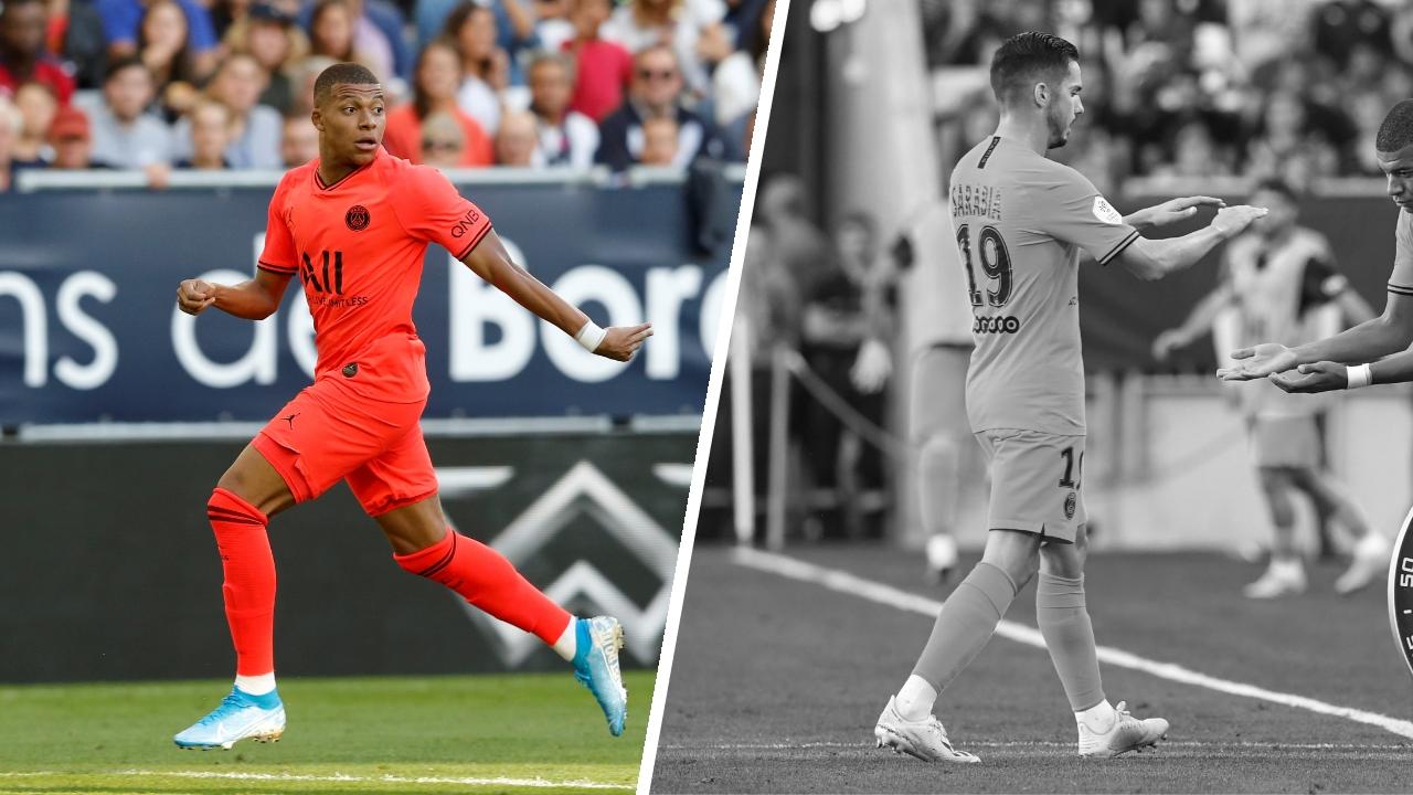 Football - Ligue 1 - Tops/Flops Bordeaux-PSG : retour gagnant pour Mbappé, Sarabia en difficulté