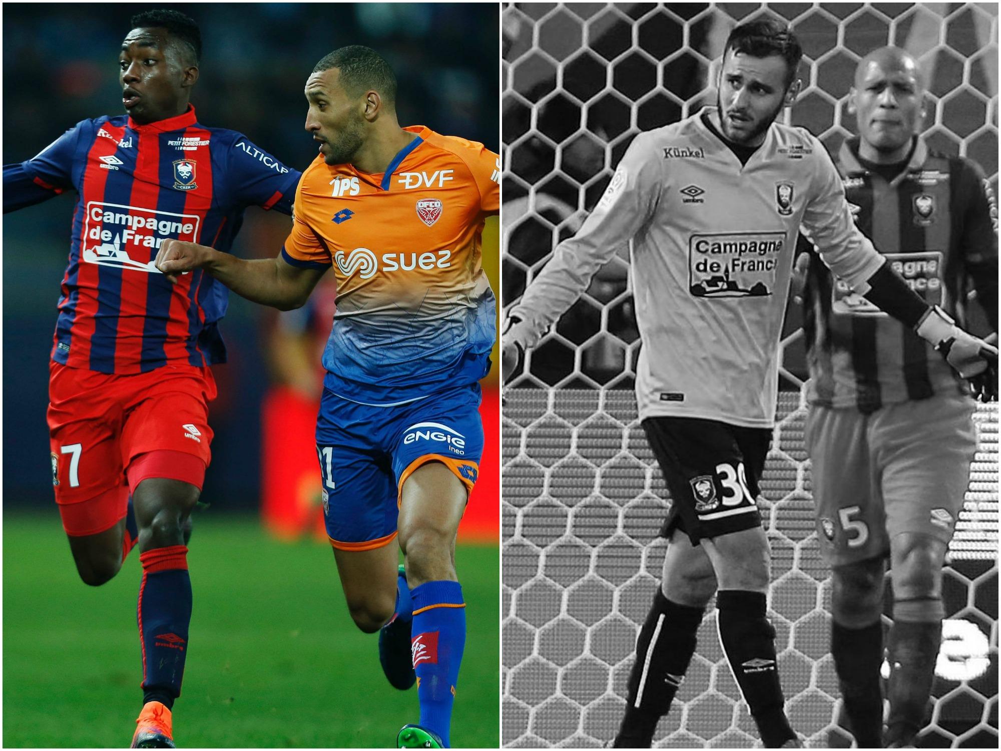 Football - Ligue 1 - Tops/Flops Caen-Dijon : la promesse Karamoh, l'erreur de Reulet