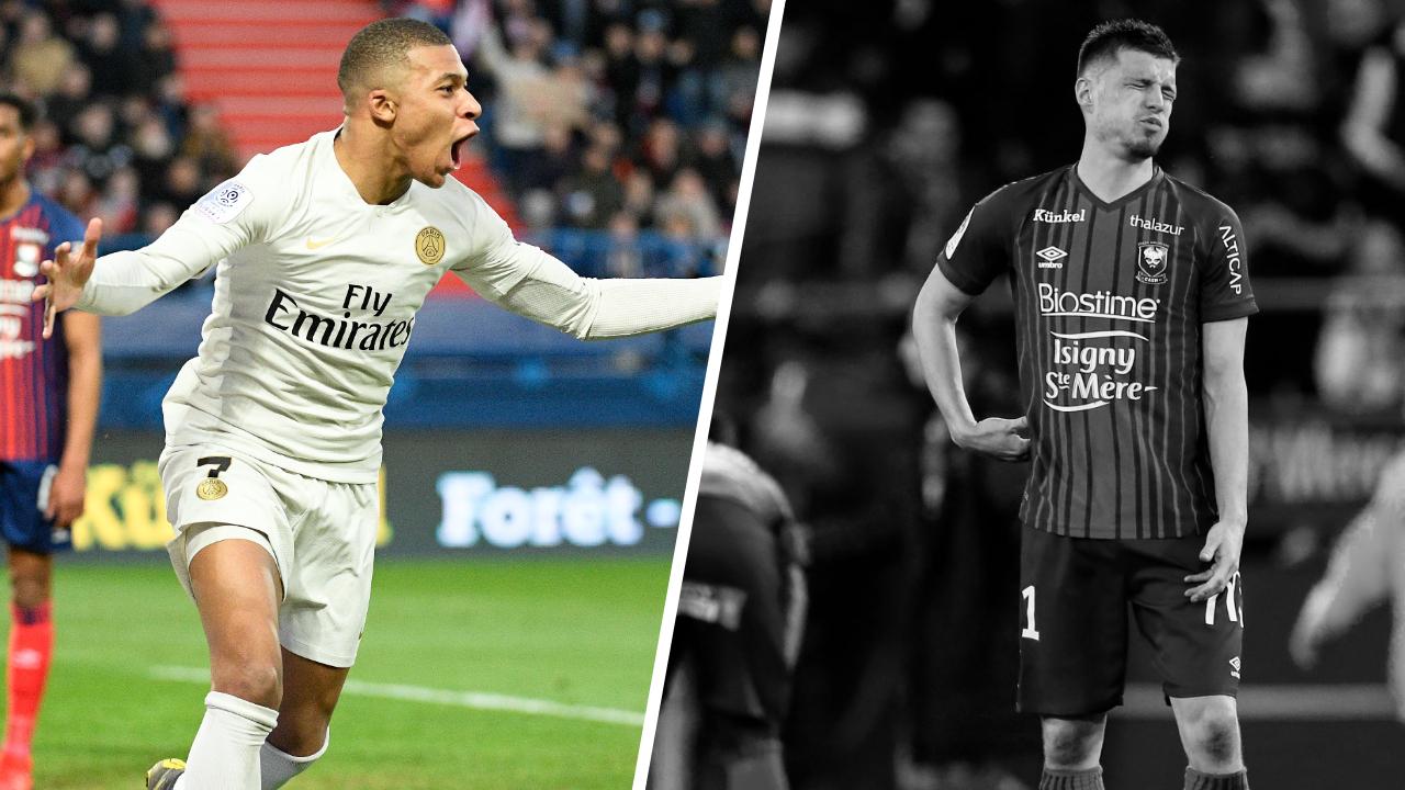Football - Ligue 1 - Tops/Flops Caen-PSG : Mbappé leader assumé, Caen au final trop limité