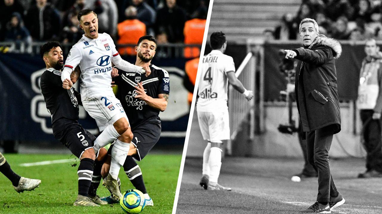 Football - Ligue 1 - Tops/Flops Bordeaux-Lyon : Aouar-Caqueret la classe, Bordeaux trop faible