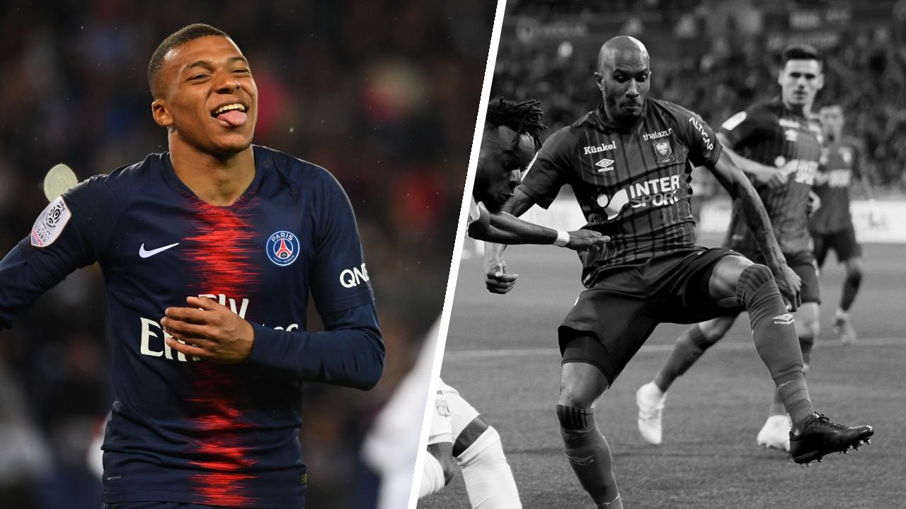 Football - Ligue 1 - Tops/Flops de la soirée de Ligue 1 : retour gagnant pour Mbappé, Caen et Dijon en grand danger
