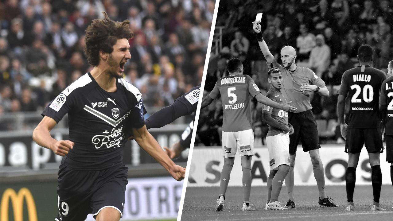Football - Ligue 1 - Tops/Flops de la soirée de Ligue 1 : Adli porte Bordeaux, Saint-Etienne au fond du trou